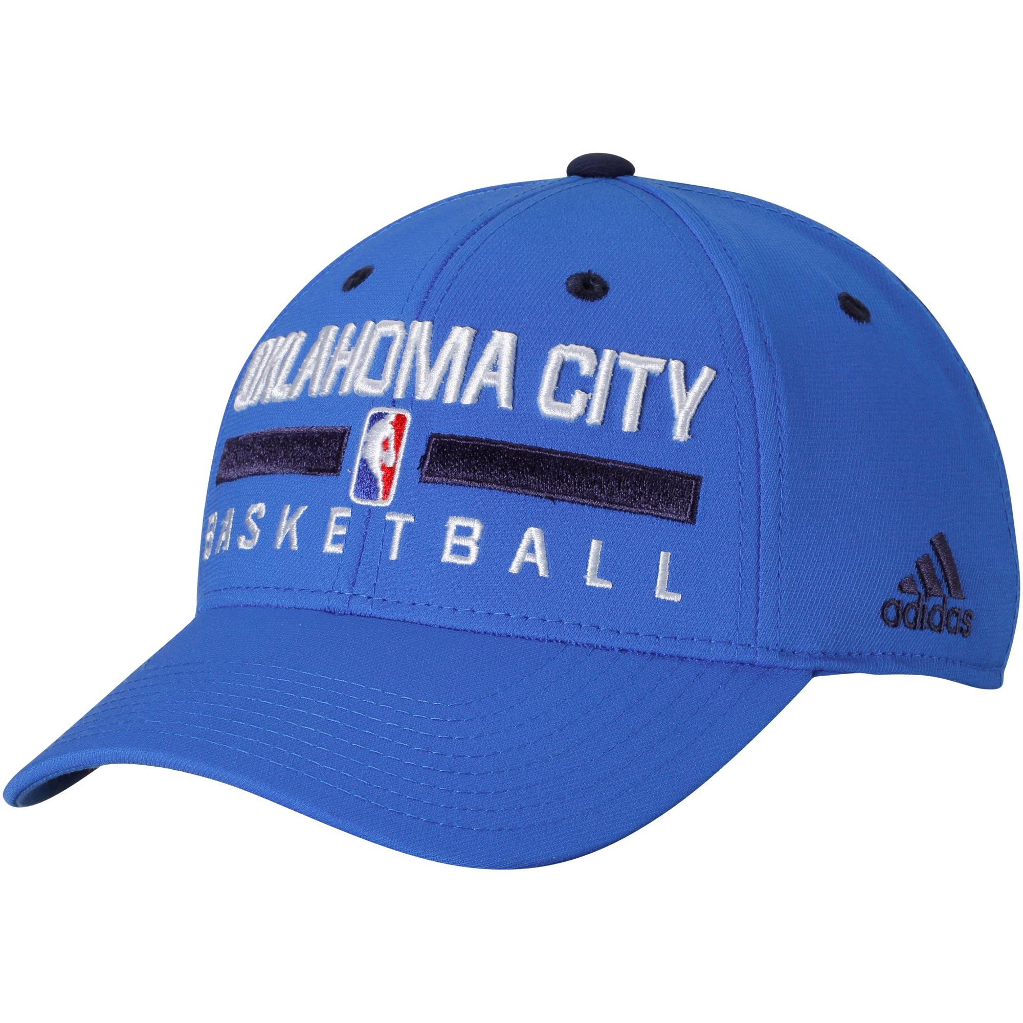 Oklahoma City Thunder adidas Practice Flex Hat - Blue