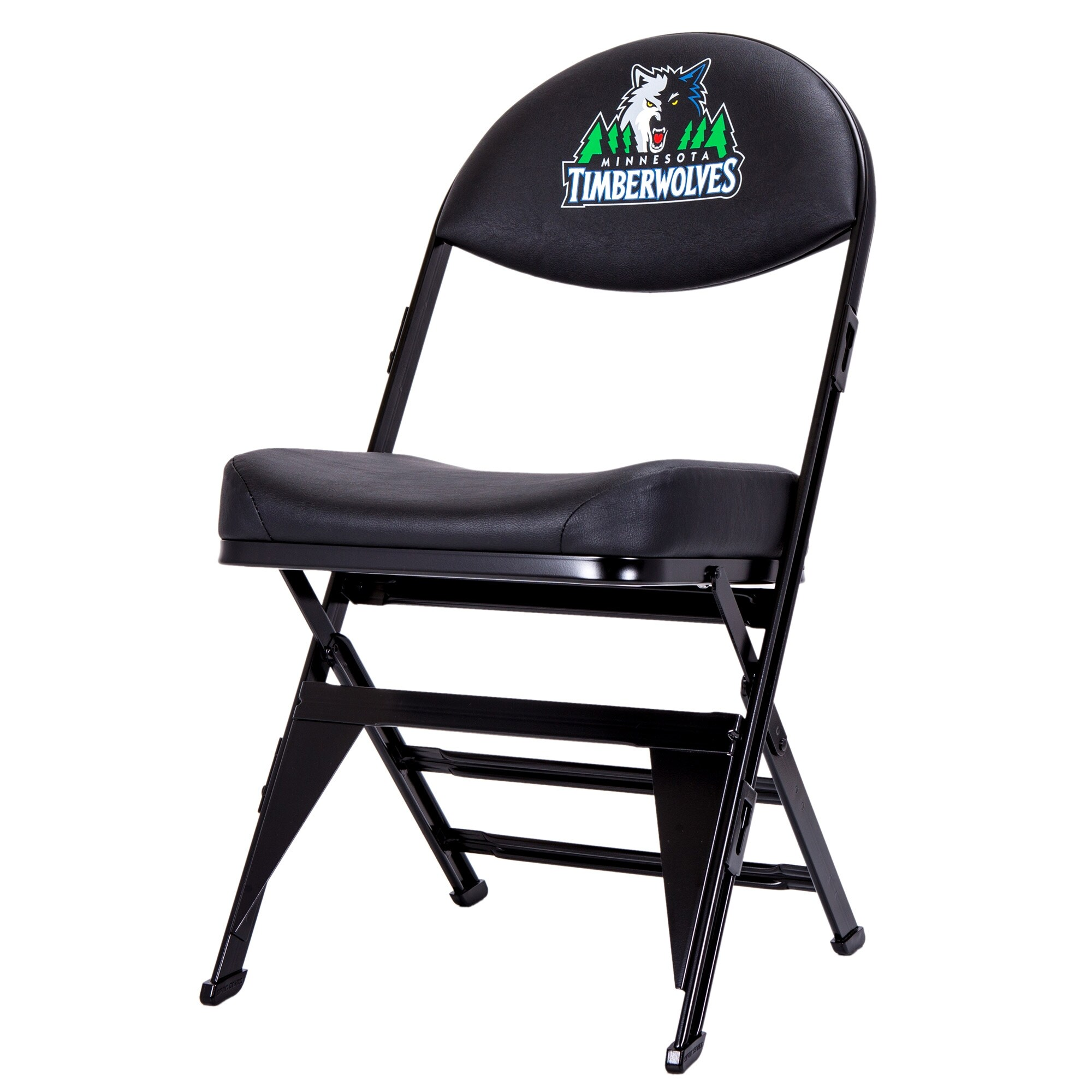 Minnesota Timberwolves X-Frame Court Side Folding Chair