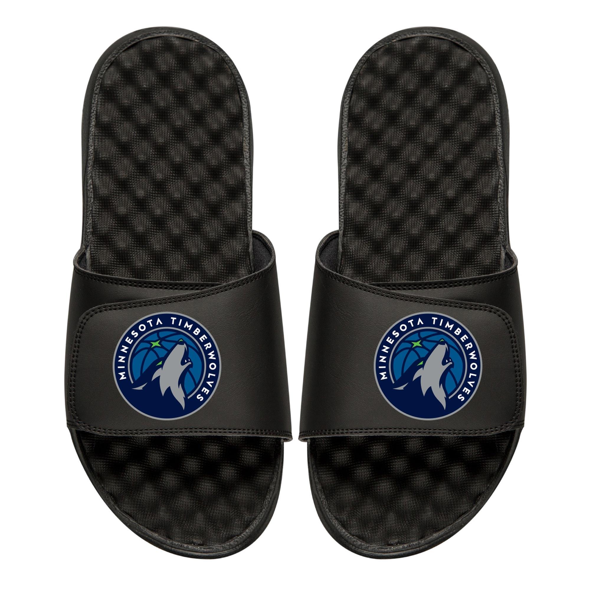 Minnesota Timberwolves Primary iSlide Sandals - Black