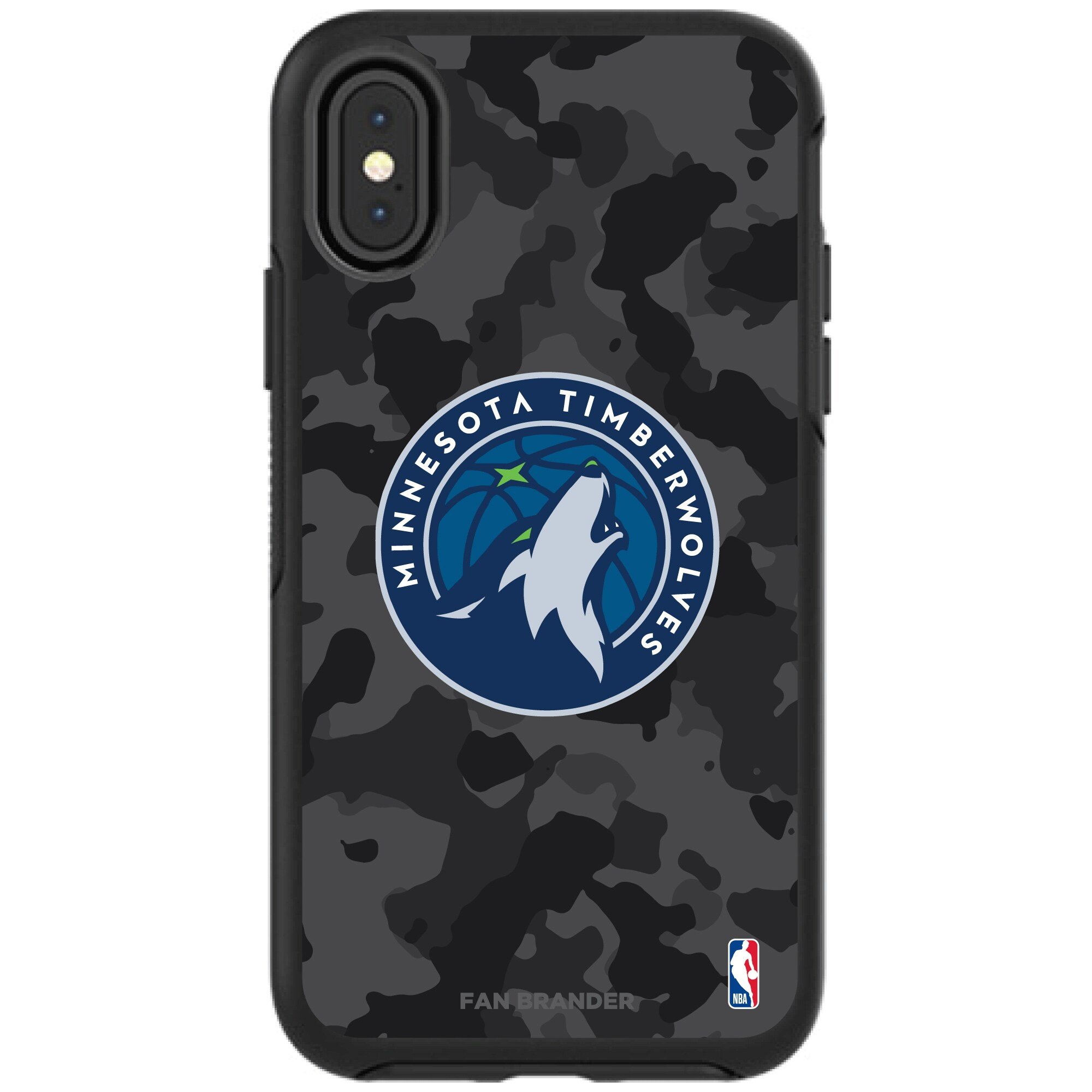 Minnesota Timberwolves OtterBox Urban Camo iPhone Case
