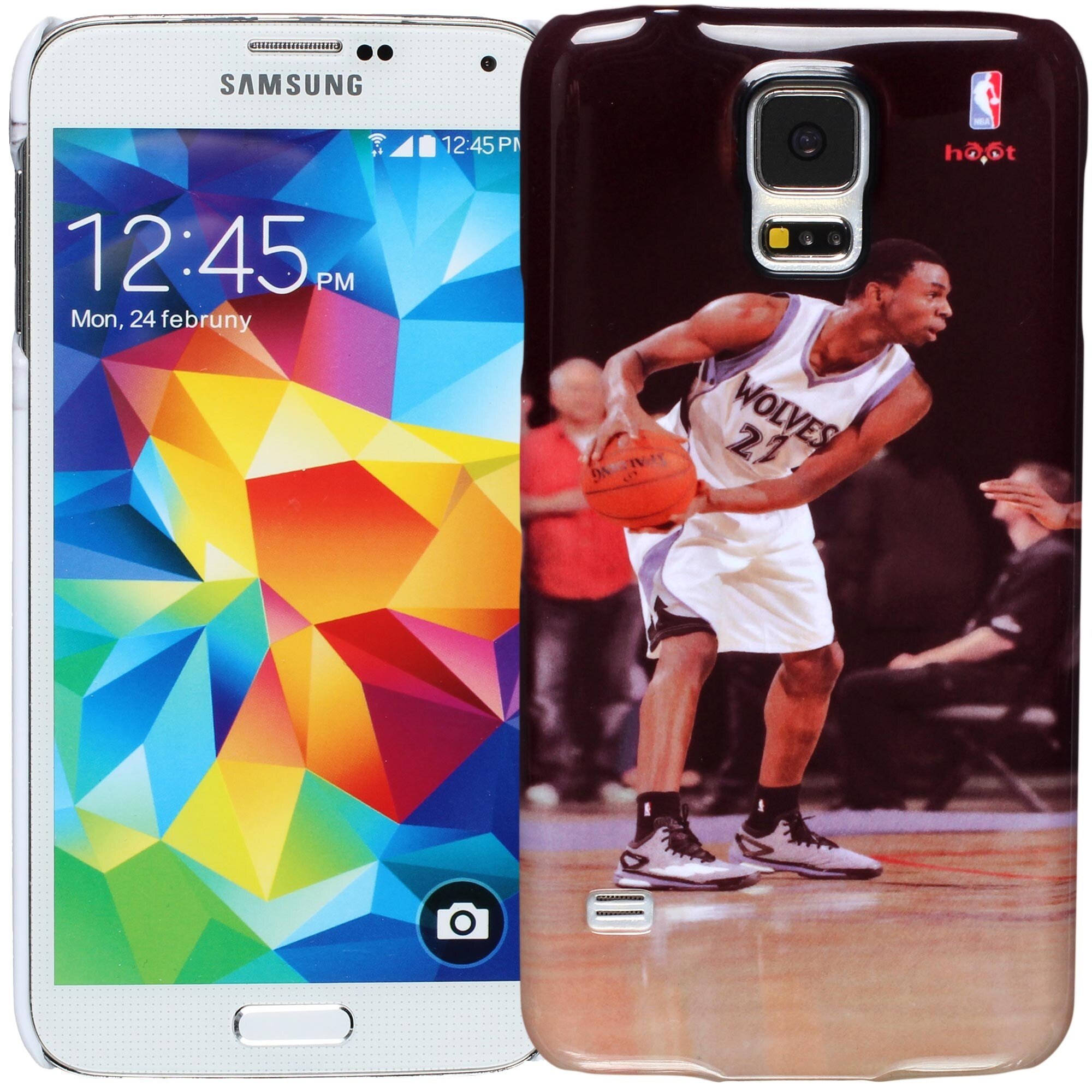 Andrew Wiggins Minnesota Timberwolves Galaxy S5 Player Case