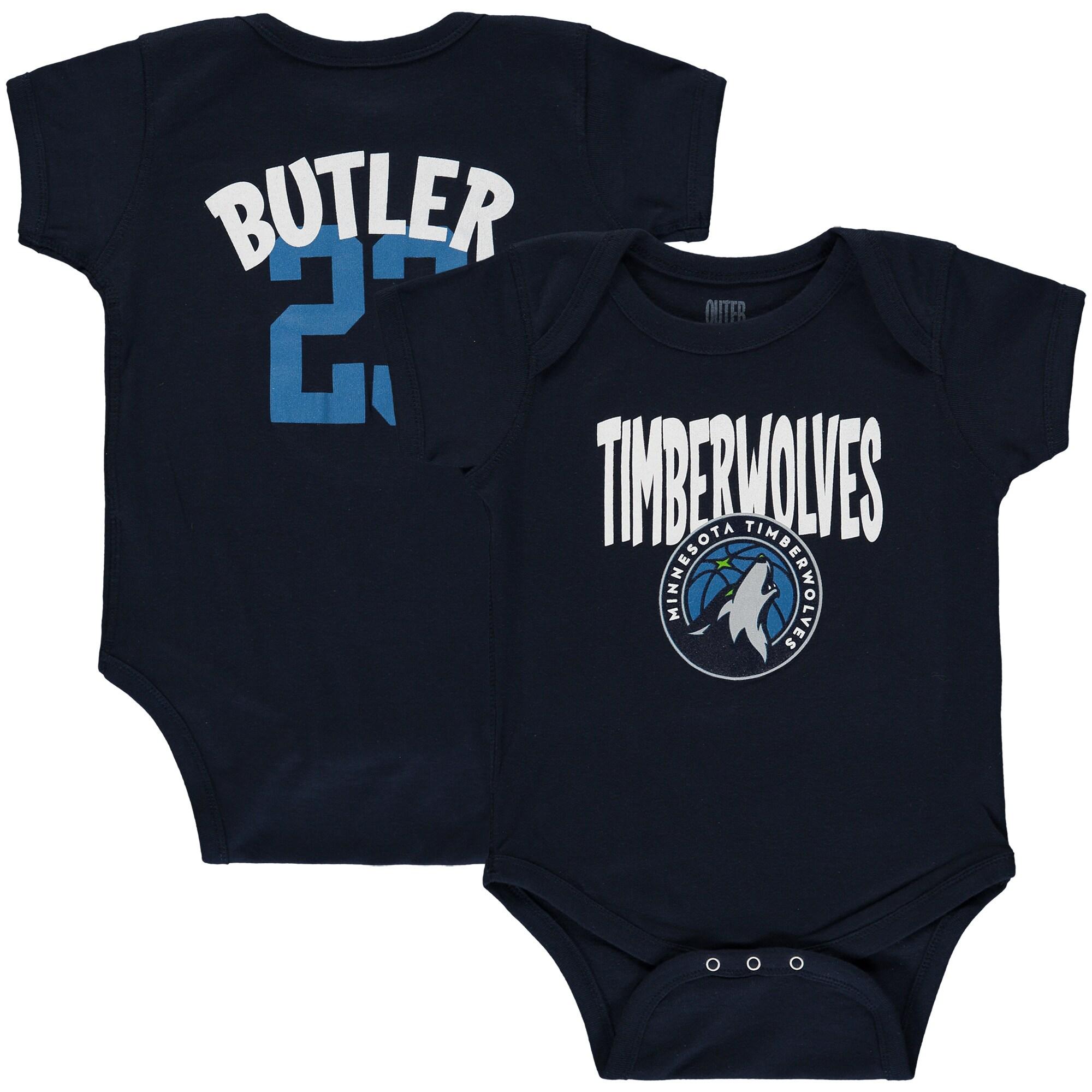 Jimmy Butler Minnesota Timberwolves Infant Name & Number Creeper - Navy