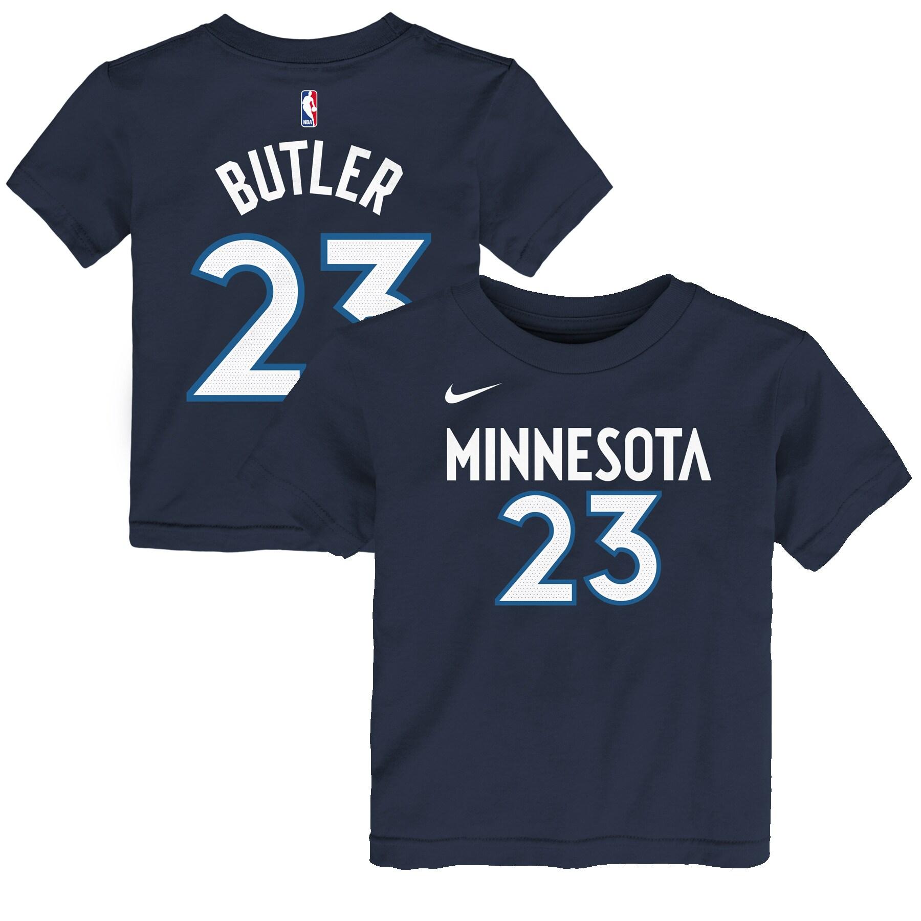 Jimmy Butler Minnesota Timberwolves Nike Preschool Name & Number T-Shirt - Navy