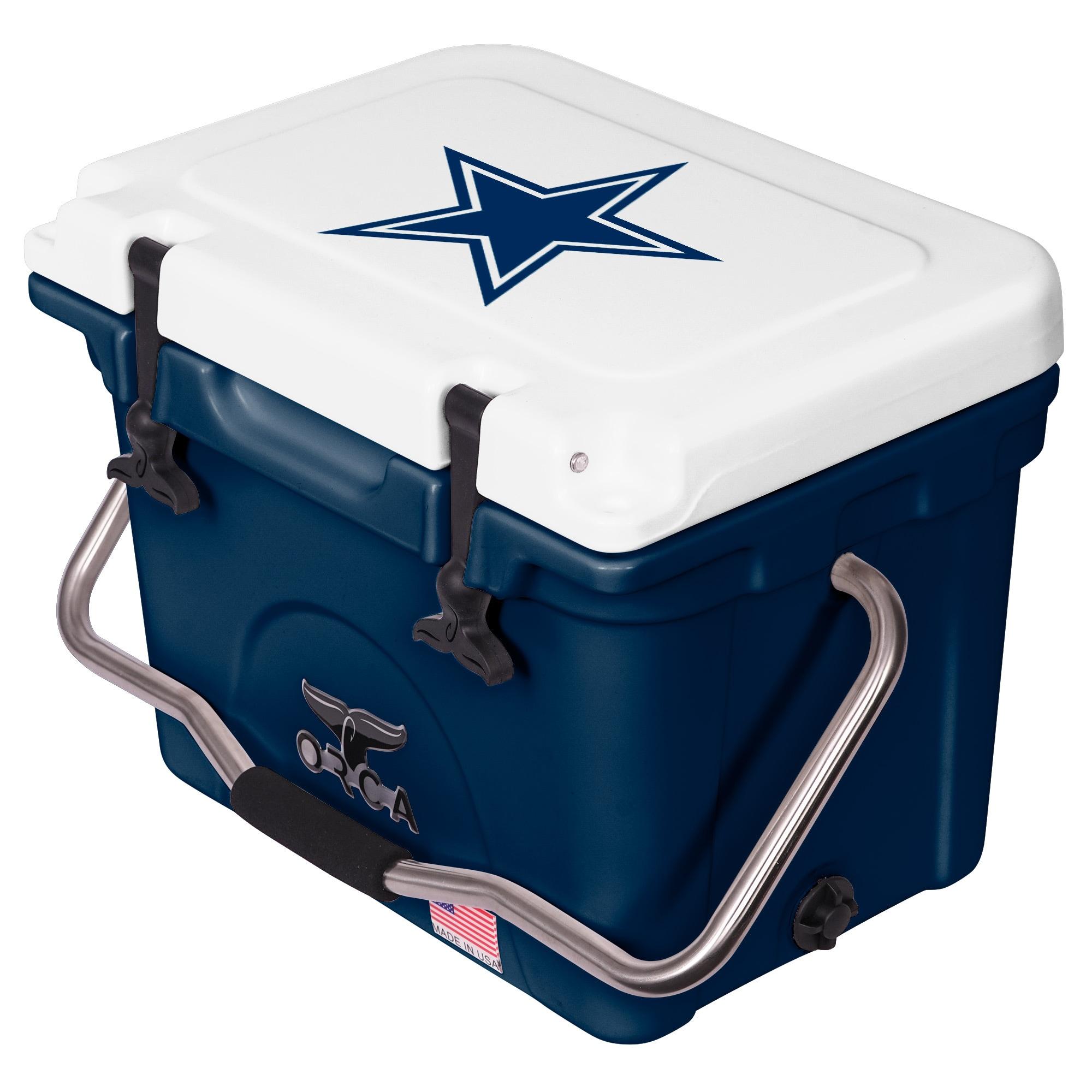 Dallas Cowboys ORCA 20-Quart Hard-Sided Cooler - White/Navy