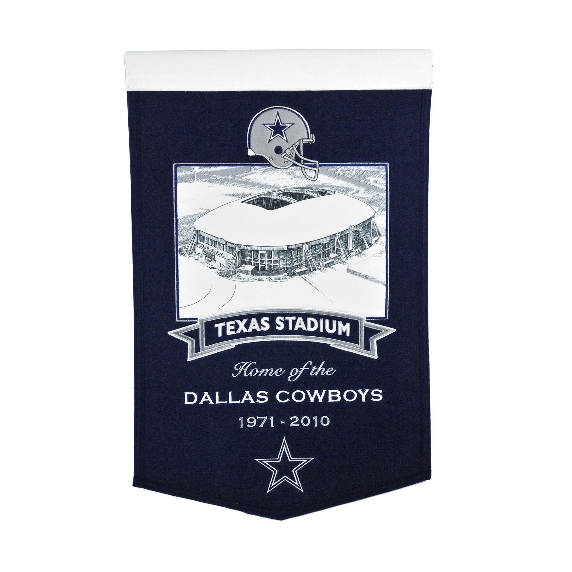 "Dallas Cowboys 15"" x 24"" Stadium Banner"
