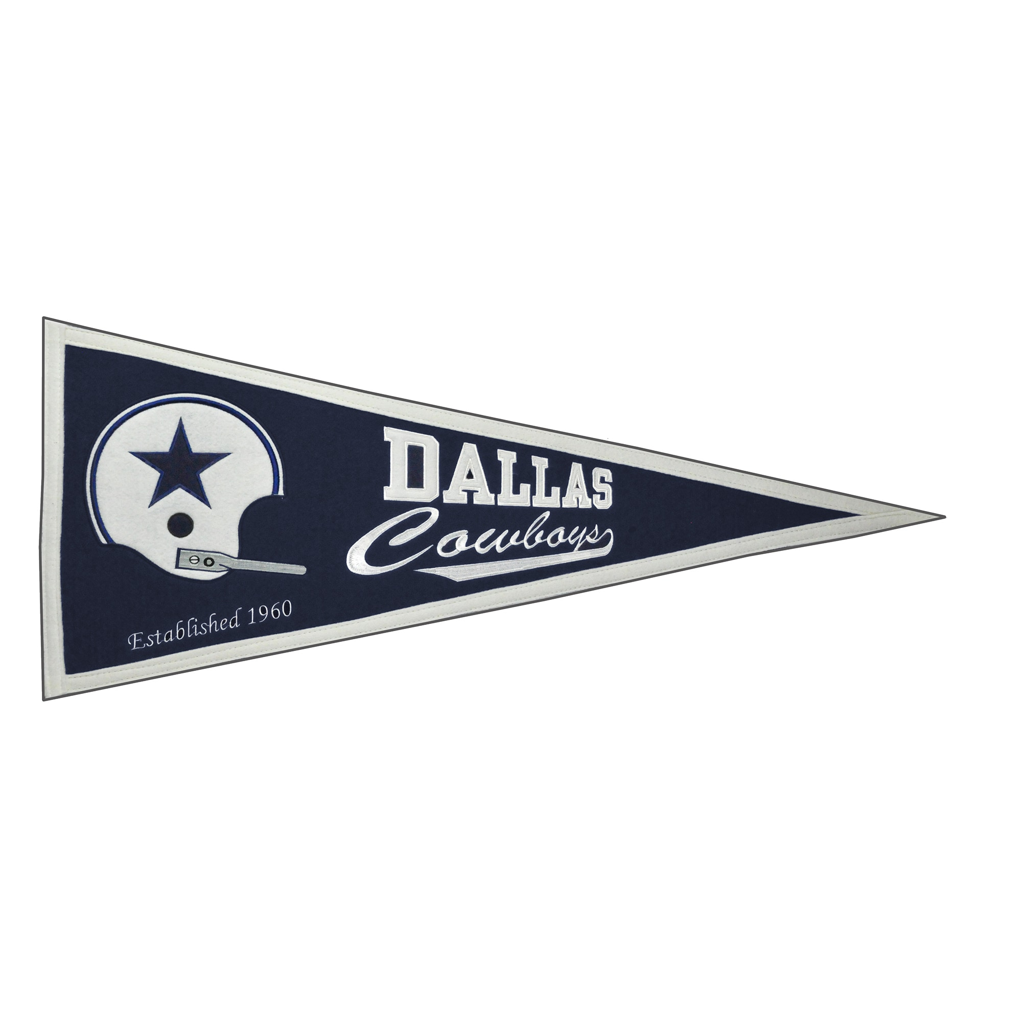 "Dallas Cowboys 13"" x 32"" Throwback Pennant"