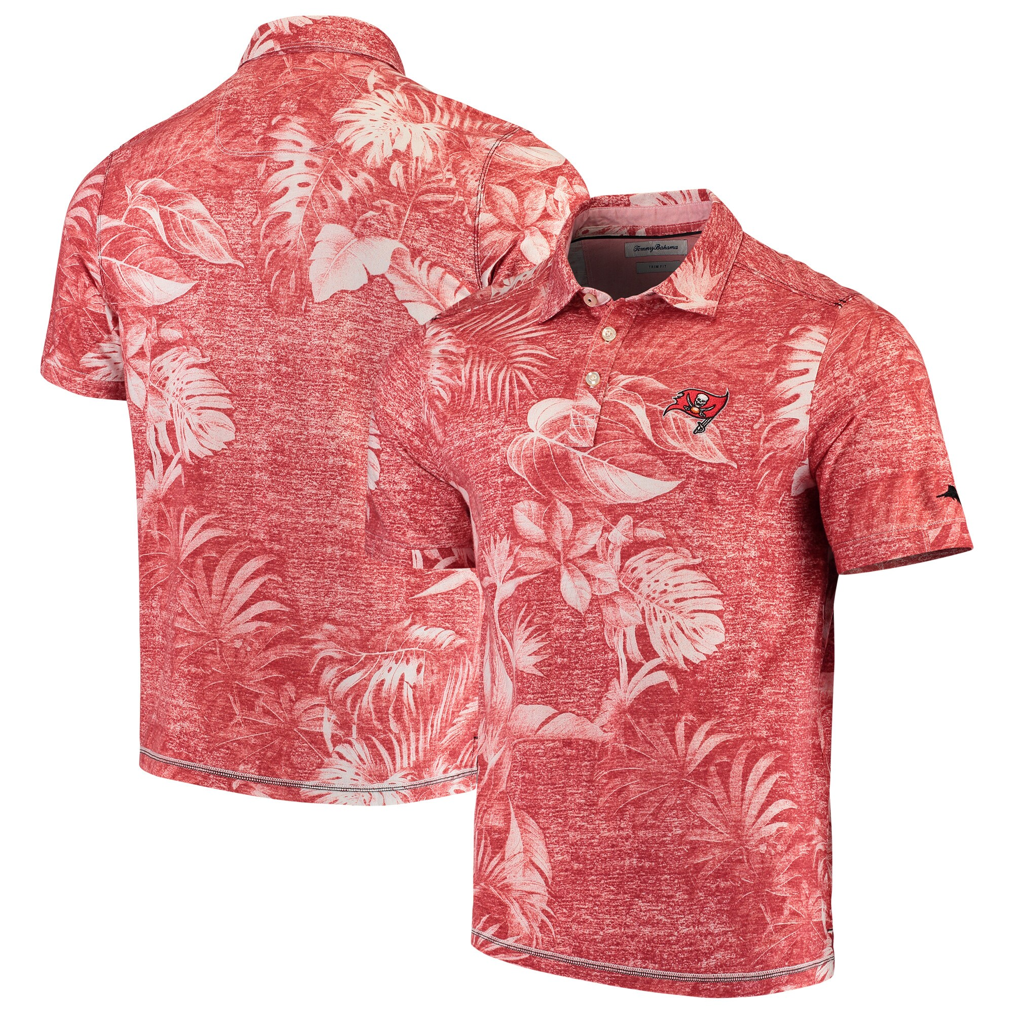 Tampa Bay Buccaneers Tommy Bahama Parque Polo - Red