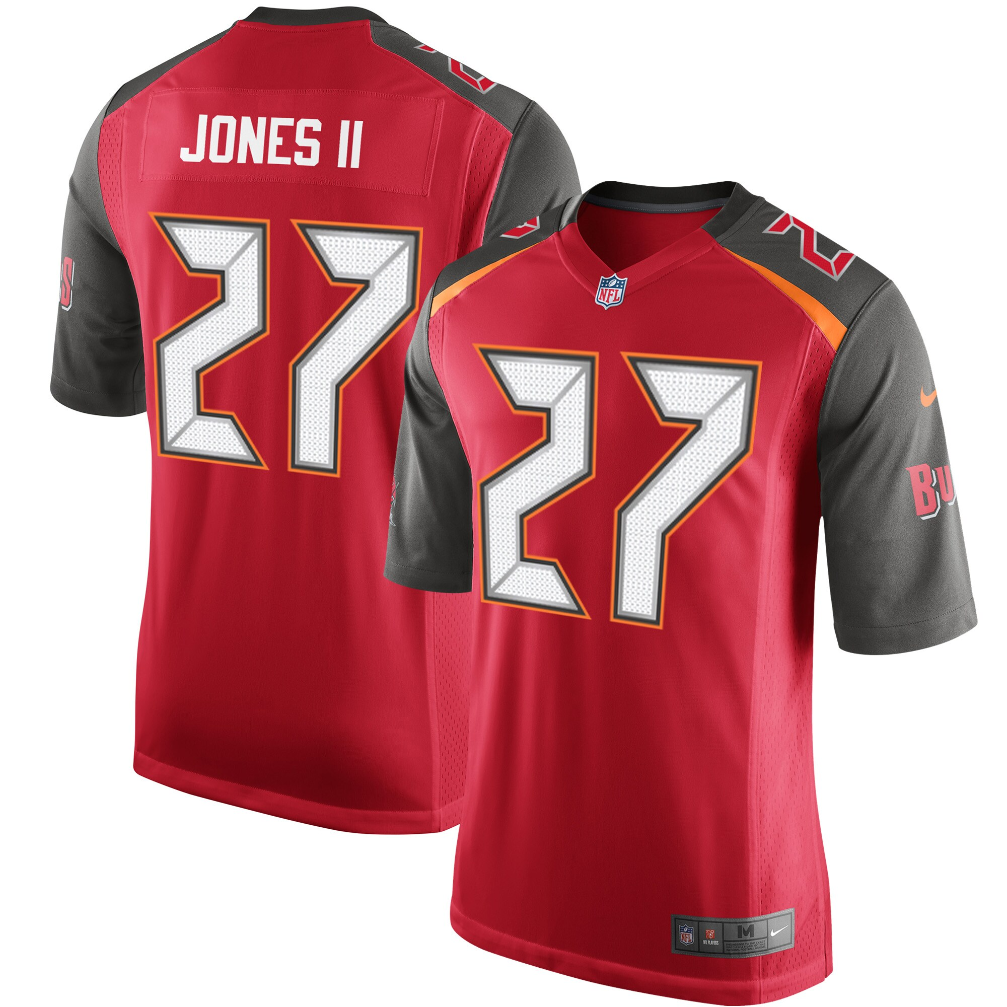 Ronald Jones II Tampa Bay Buccaneers Nike Game Player Jersey - Red