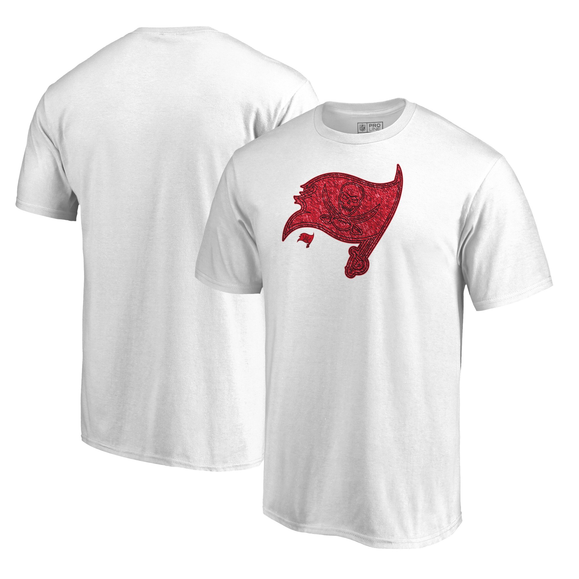 Tampa Bay Buccaneers NFL Pro Line by Fanatics Branded Training Camp Hookup T-Shirt - White