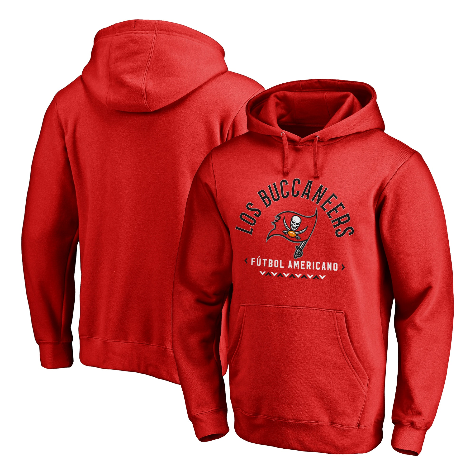 Tampa Bay Buccaneers NFL Pro Line by Fanatics Branded Futbol Americano Pullover Hoodie - Red
