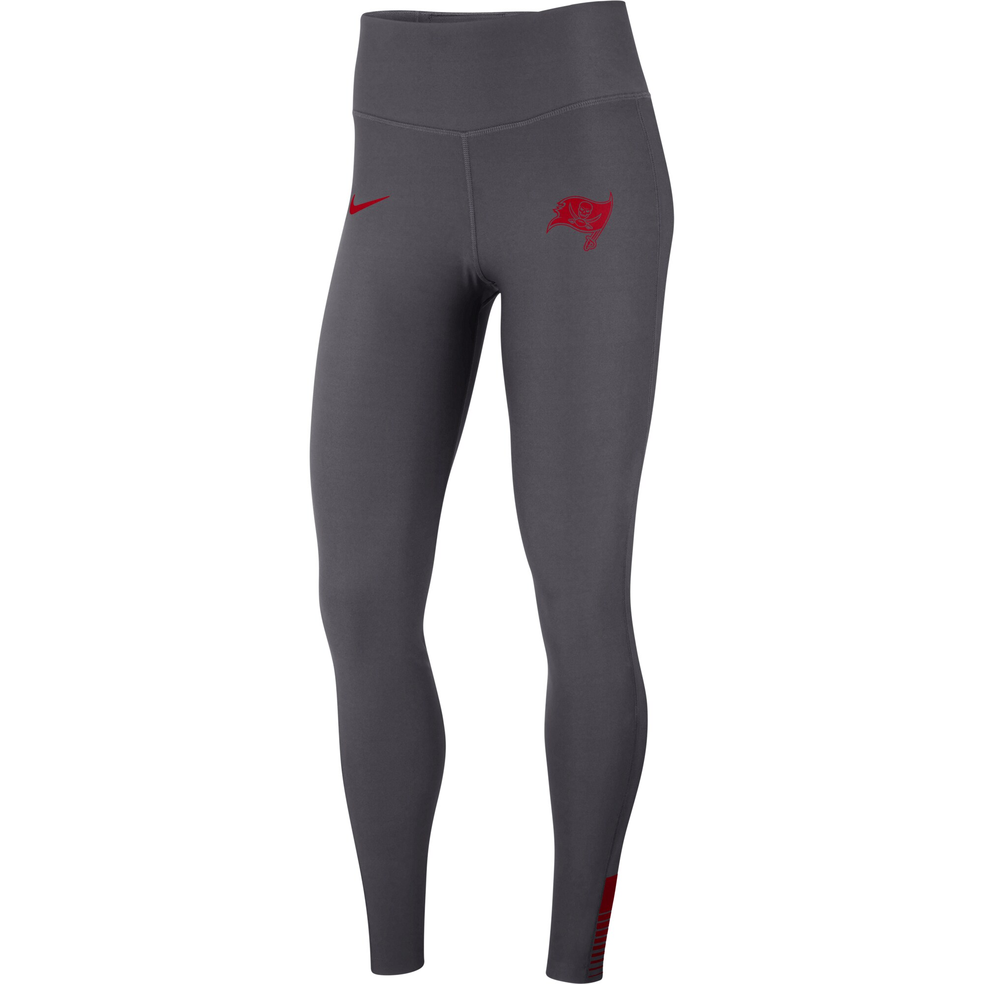 Tampa Bay Buccaneers Nike Women's Power Sculpt Leggings - Gray