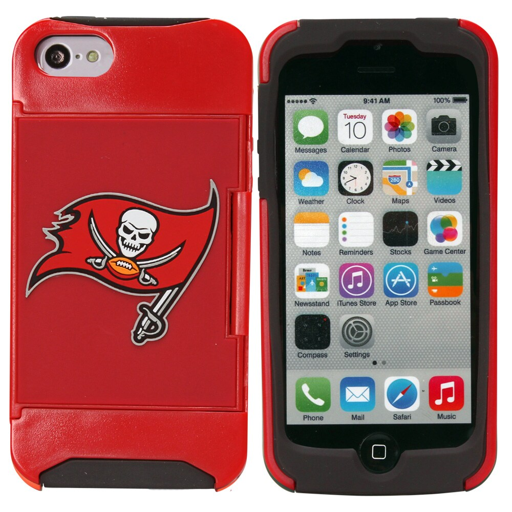 Tampa Bay Buccaneers iPhone 5 Credit Card Case