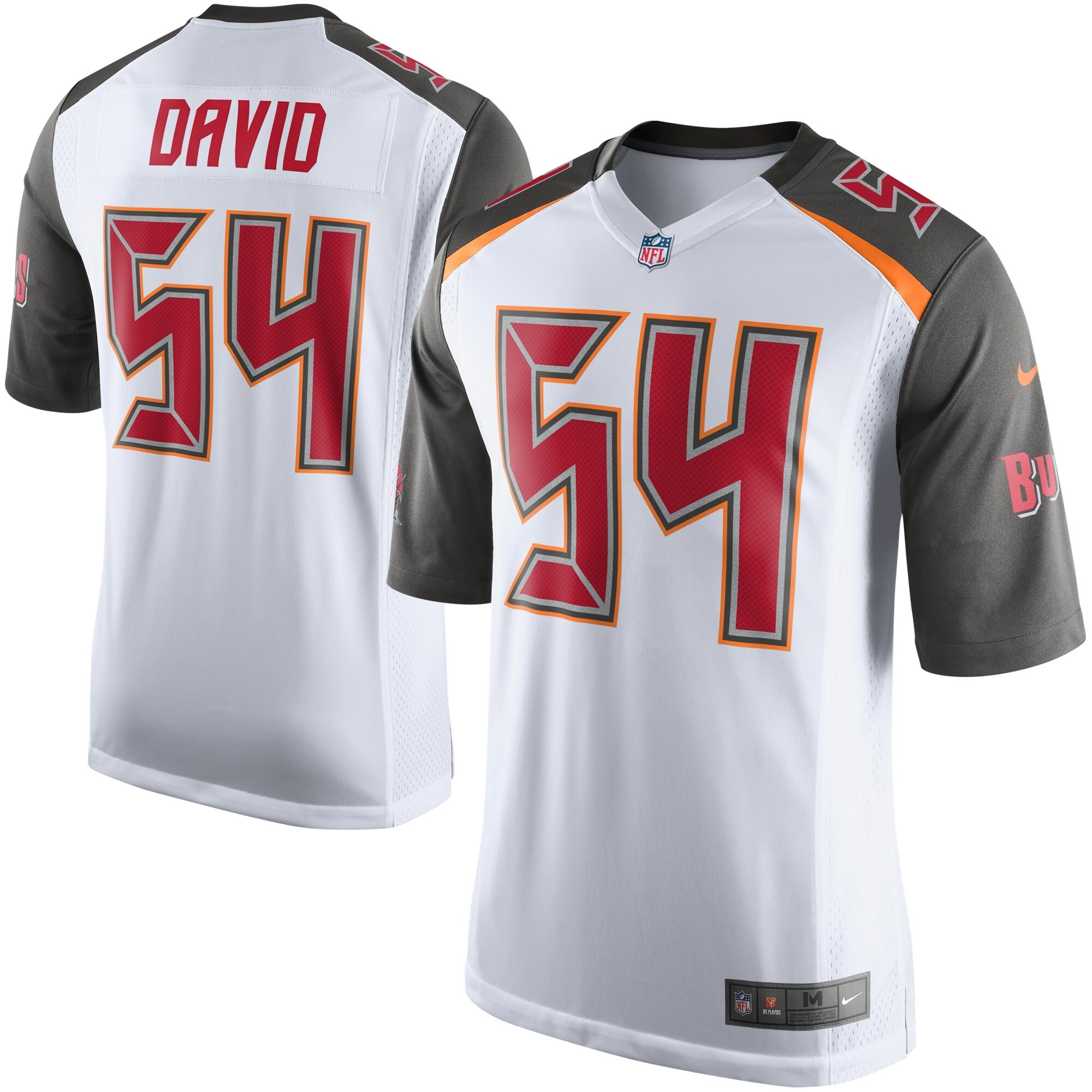 Lavonte David Tampa Bay Buccaneers Nike Youth Game Jersey - White