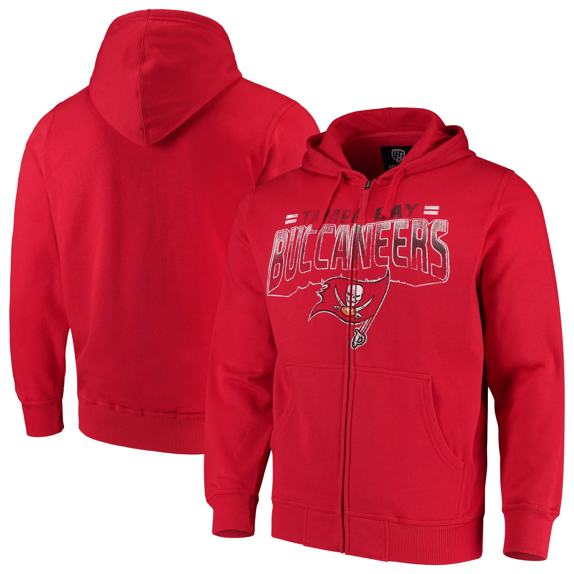 Tampa Bay Buccaneers G-III Sports by Carl Banks Perfect Season Full-Zip Hoodie - Red