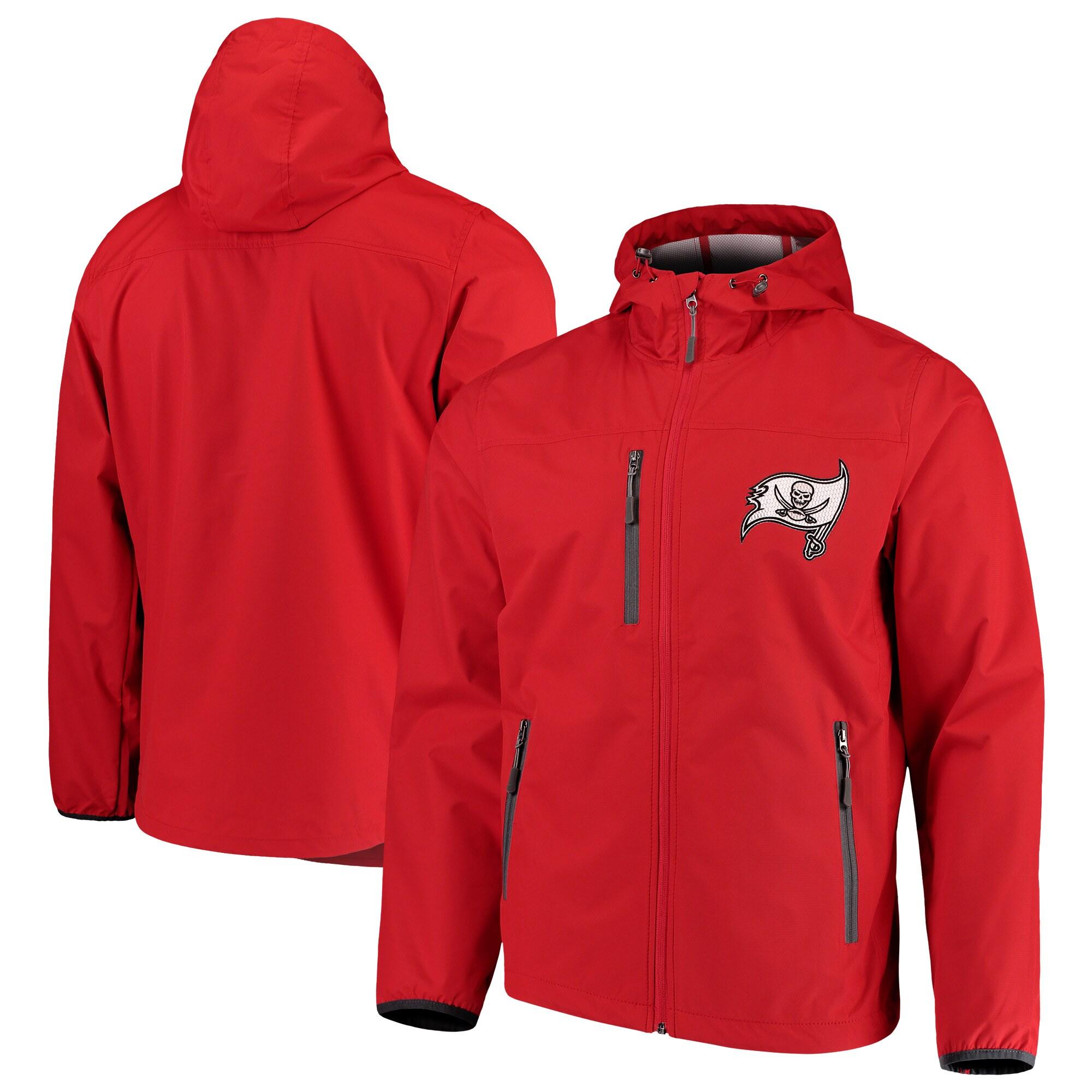Tampa Bay Buccaneers G-III Sports by Carl Banks Trick Play Full-Zip Hooded Jacket - Red