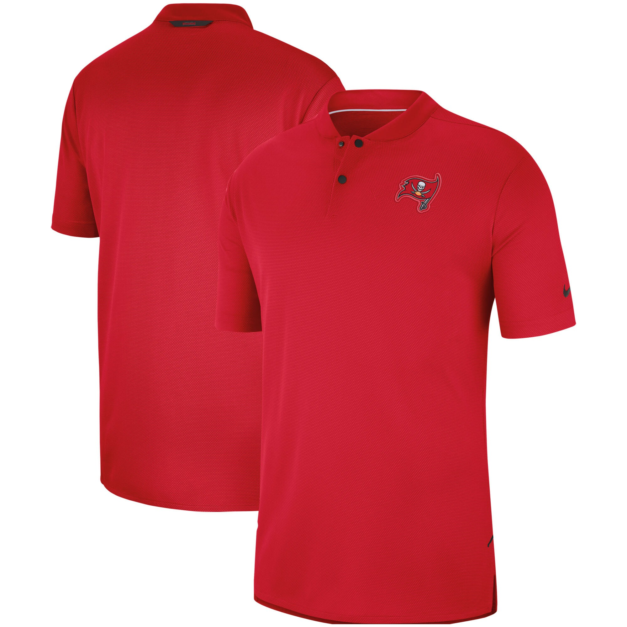 Tampa Bay Buccaneers Nike Sideline Elite Coaches Performance Polo - Red