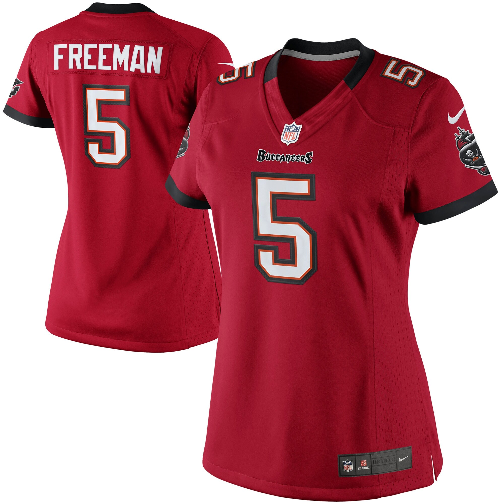Josh Freeman Tampa Bay Buccaneers Historic Logo Nike Women's Limited Jersey - Red