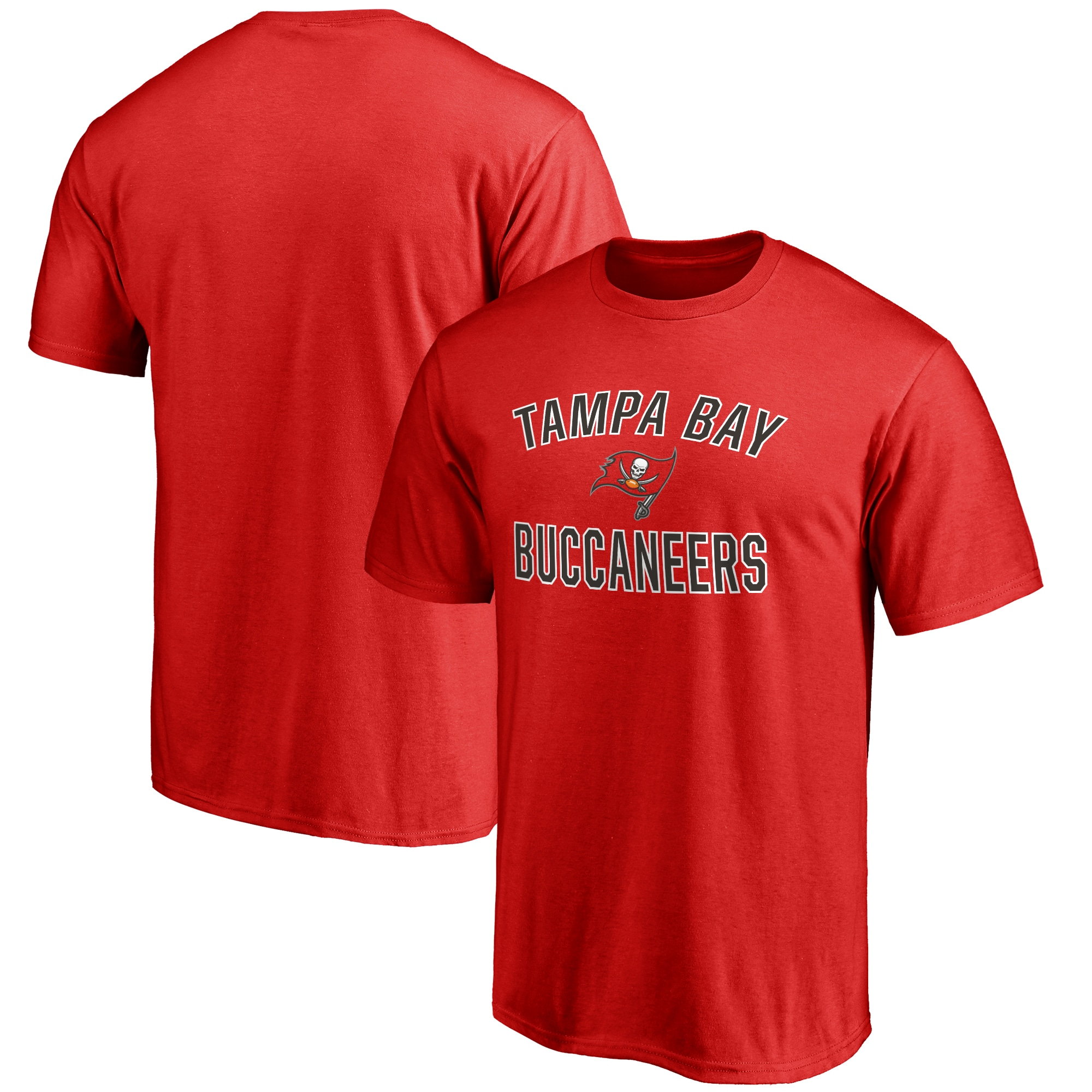 Tampa Bay Buccaneers NFL Pro Line Big & Tall Victory Arch T-Shirt - Red