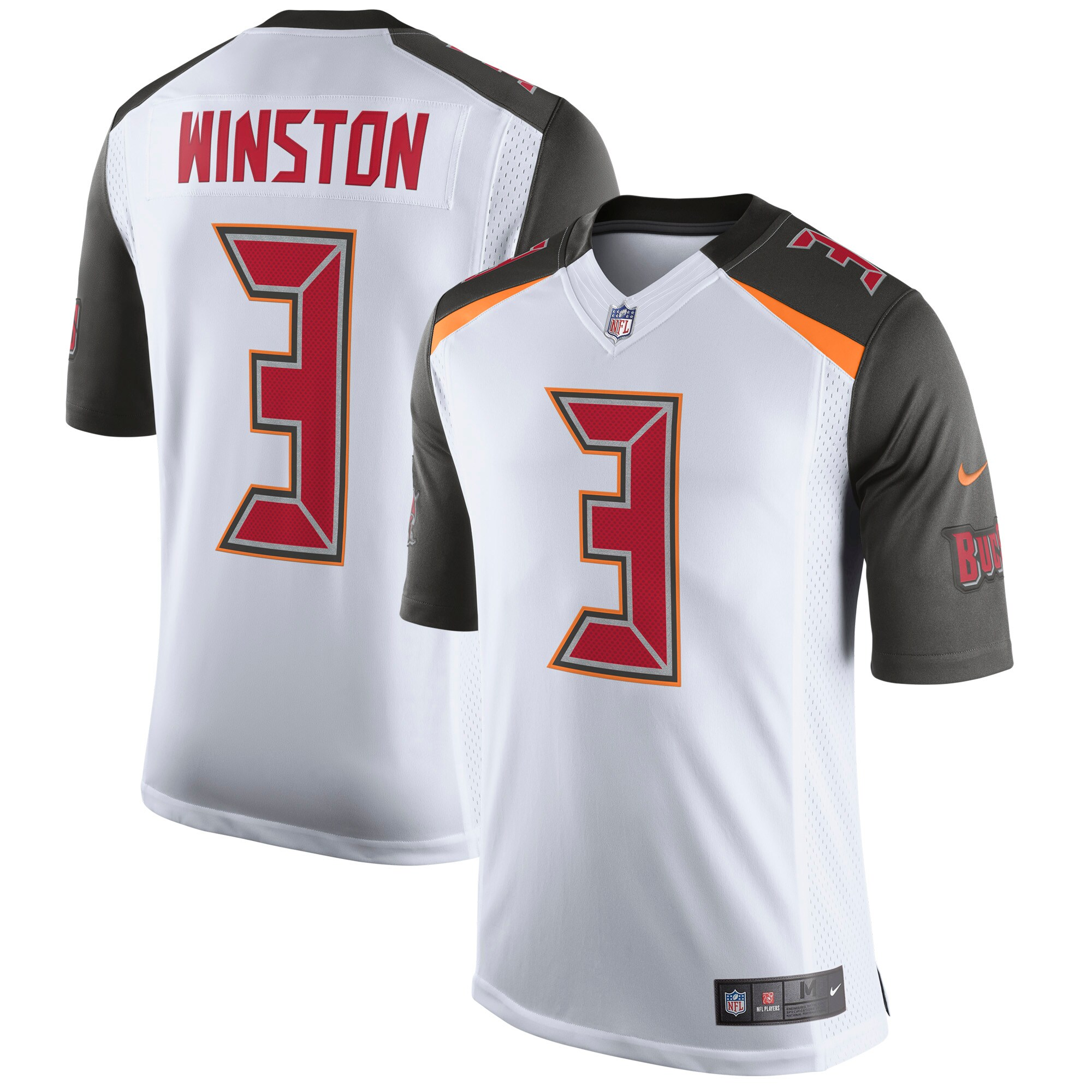 Jameis Winston Tampa Bay Buccaneers Nike Speed Machine Limited Player Jersey - White
