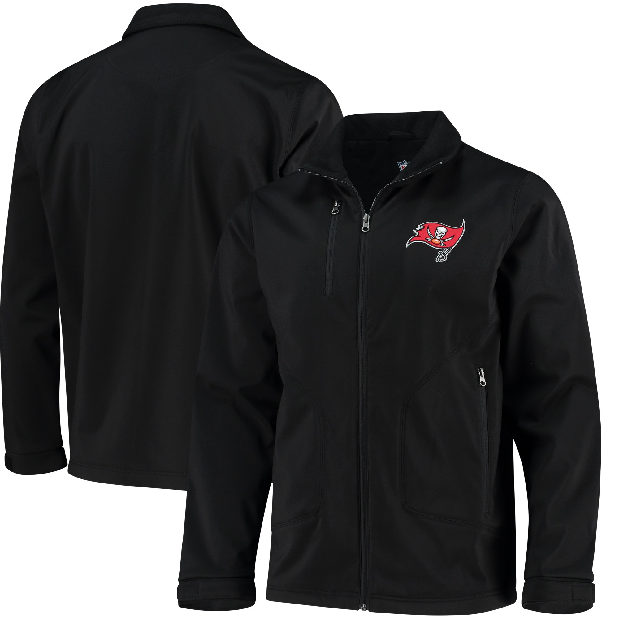 Tampa Bay Buccaneers Hands High Strong Side Soft Shell Jacket - Black