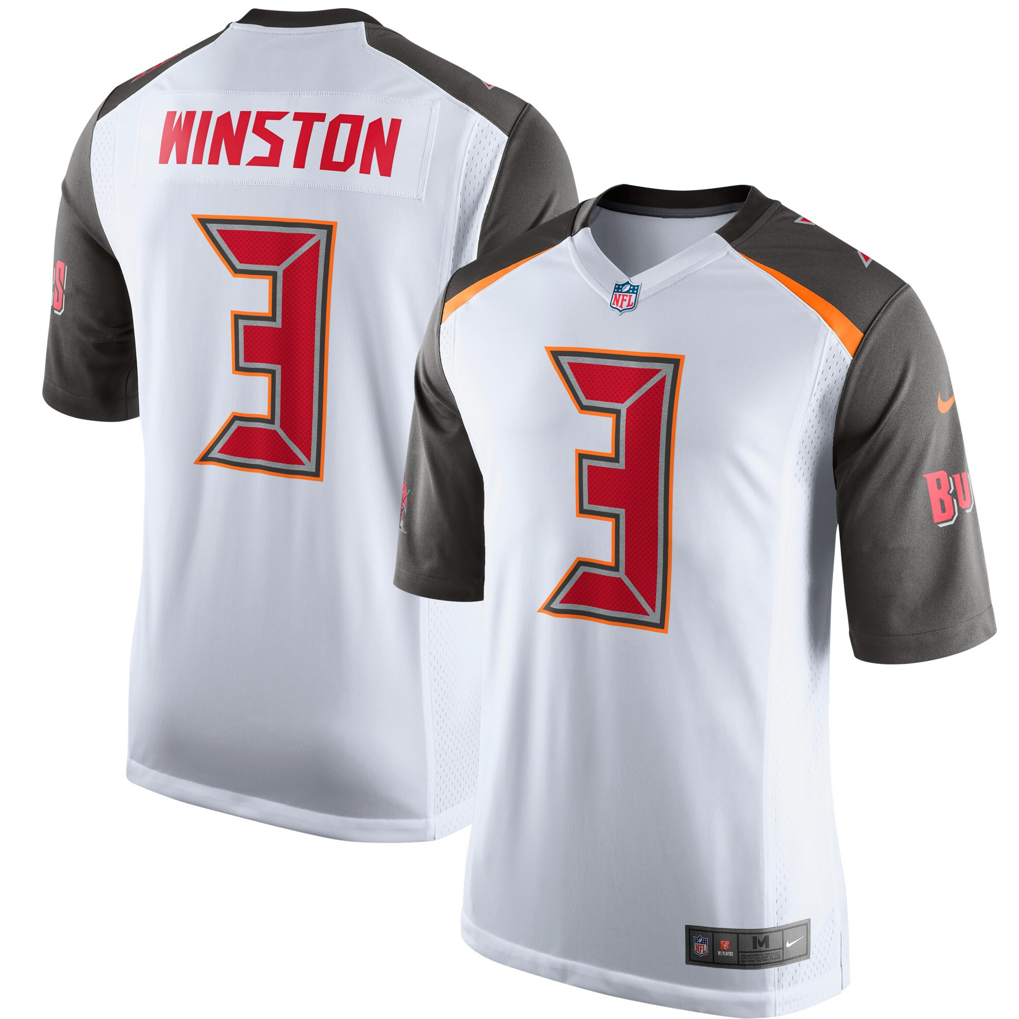 Jameis Winston Tampa Bay Buccaneers Nike Game Jersey - White