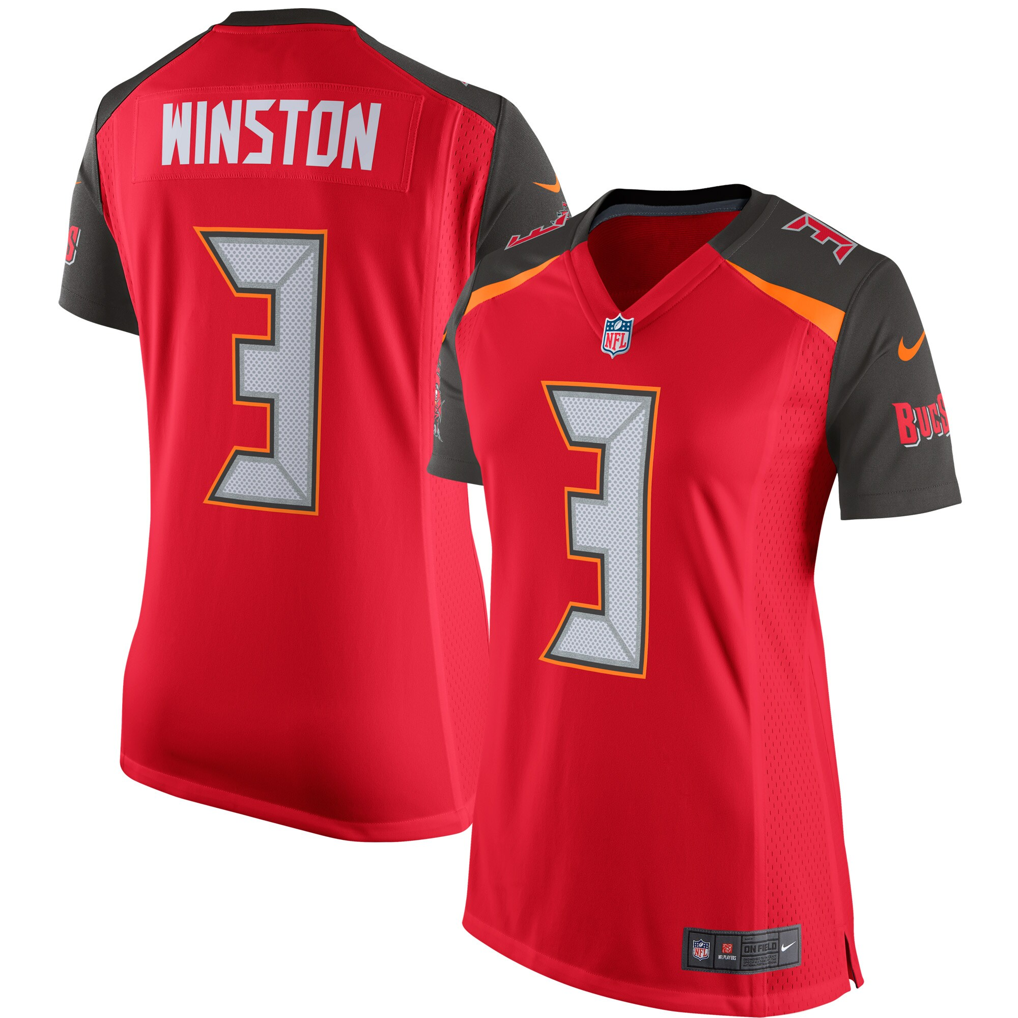 Jameis Winston Tampa Bay Buccaneers Nike Women's 2015 Game Jersey - Red