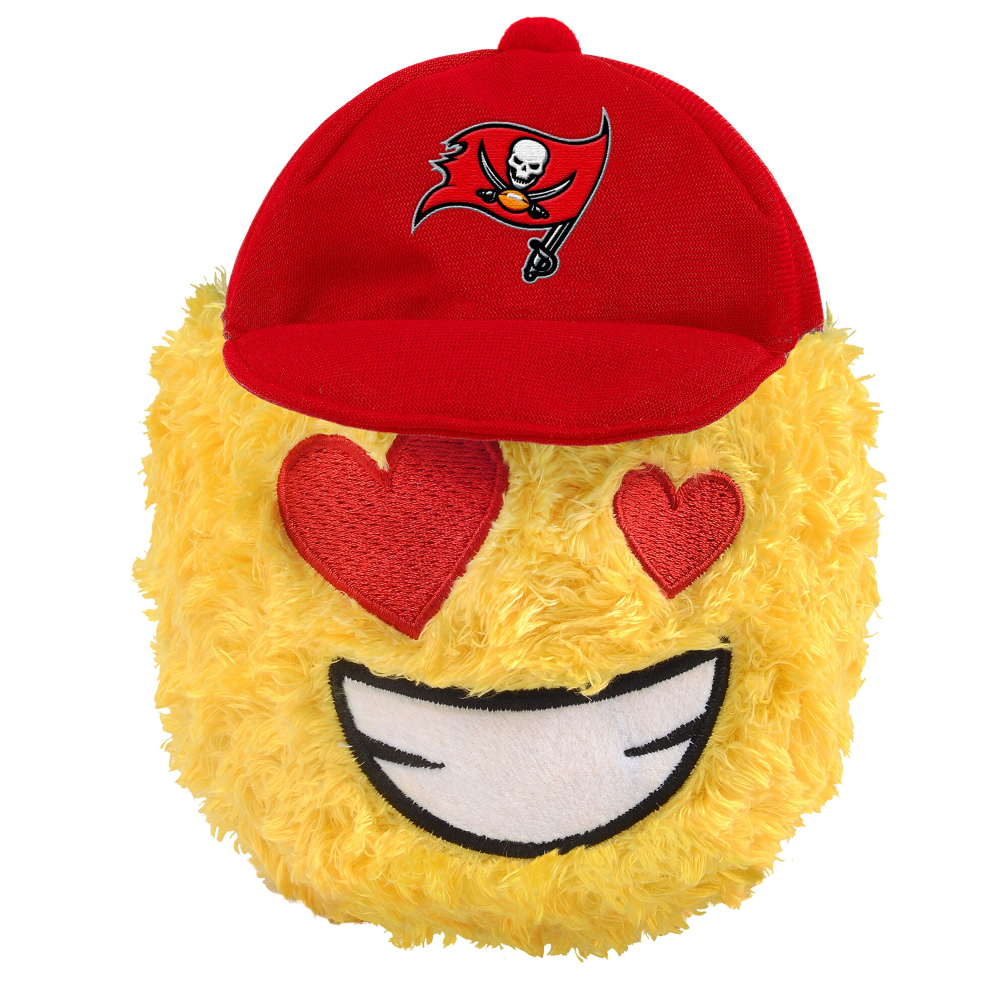 "Tampa Bay Buccaneers 5"" Heart Eyes Teamoji Plush Toy"