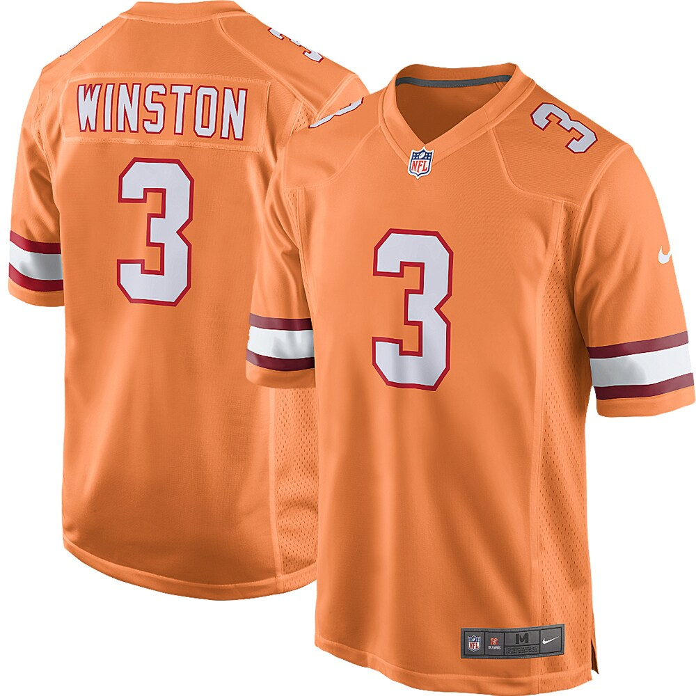Jameis Winston Tampa Bay Buccaneers Nike Youth Alternate Game Jersey - Orange