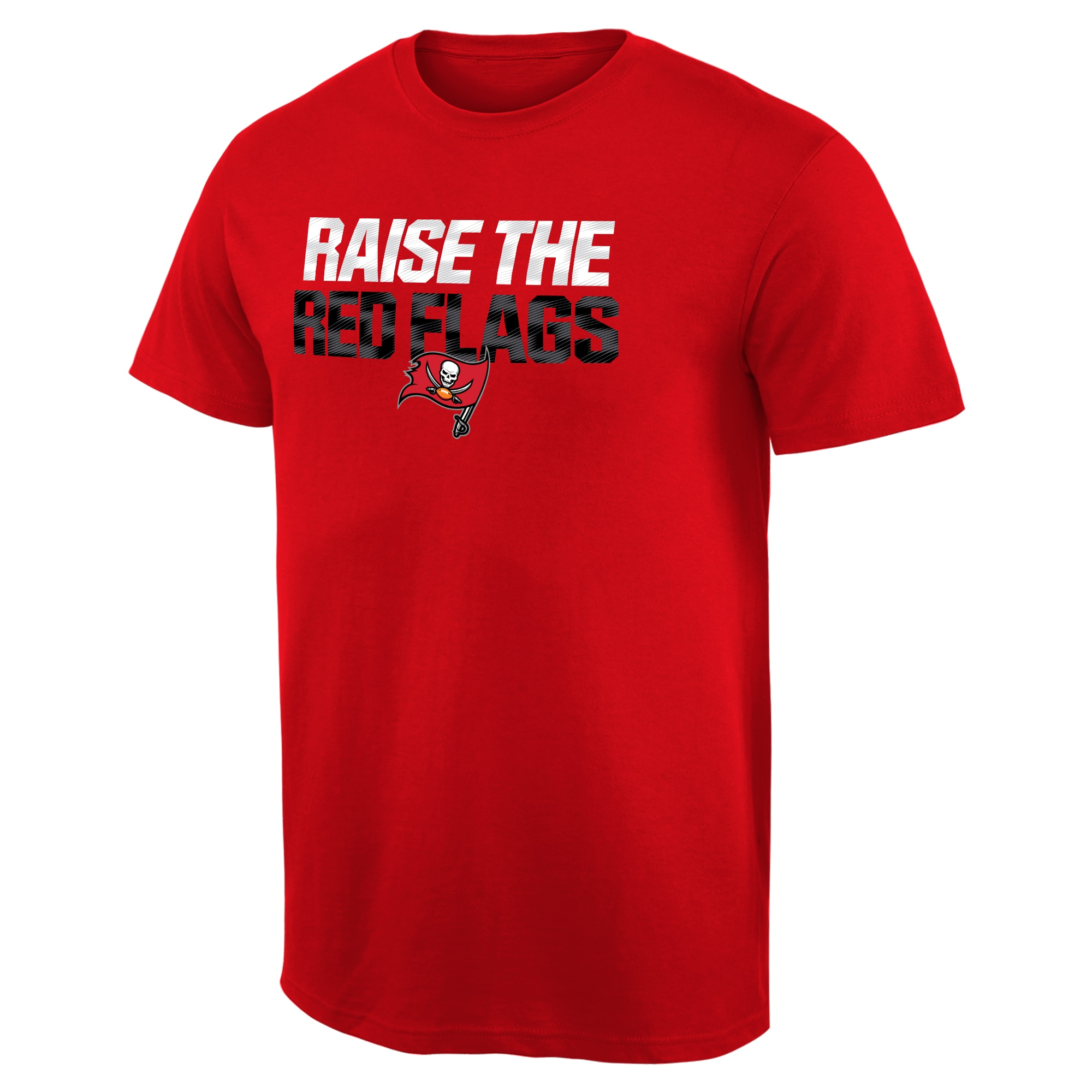 Tampa Bay Buccaneers NFL Pro Line Big & Tall Mantra T-Shirt - Red