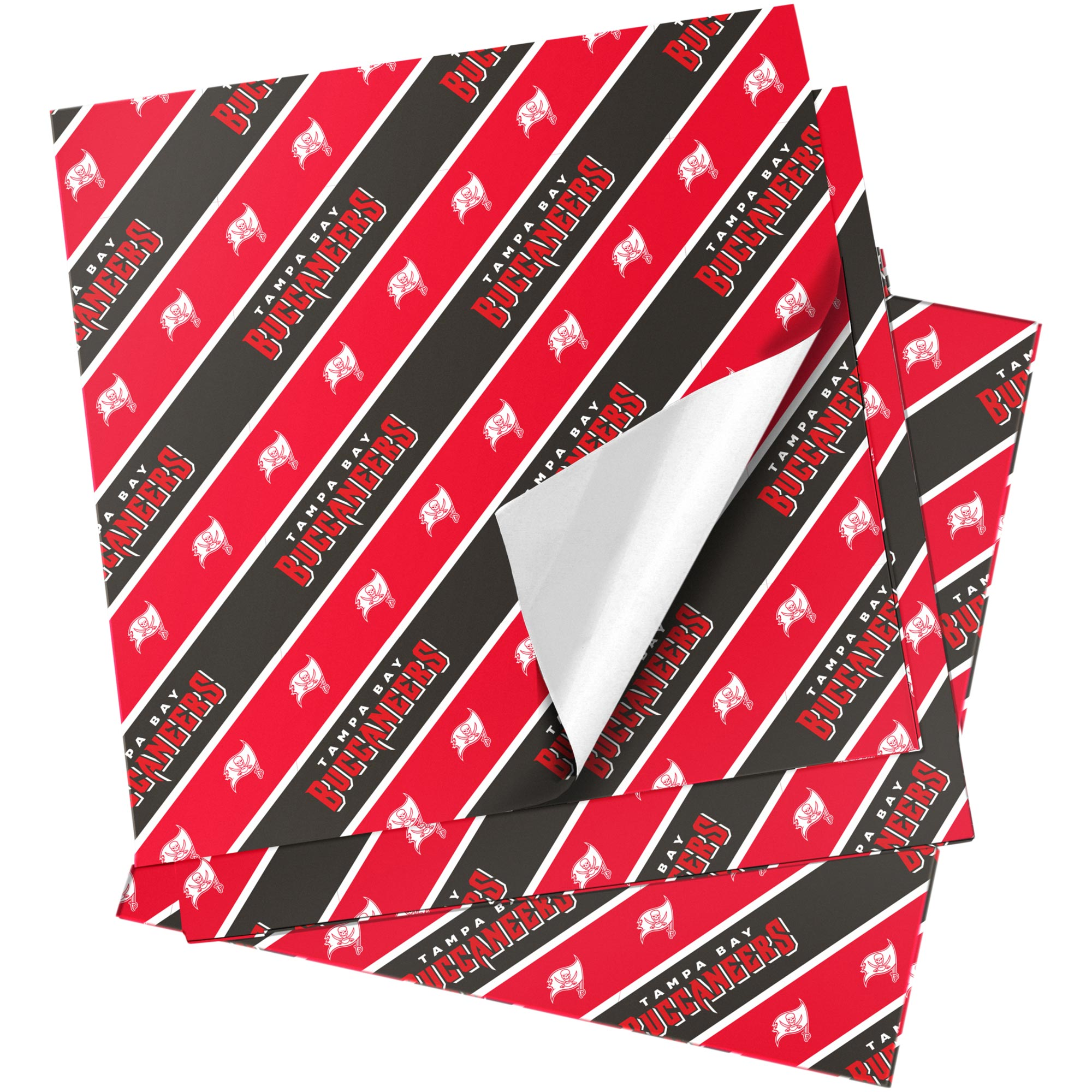 "Tampa Bay Buccaneers 20"" x 30"" Wrapping Paper"