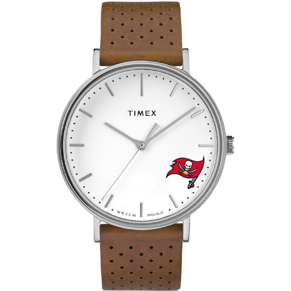 Tampa Bay Buccaneers Timex Bright Whites Tribute Collection Watch