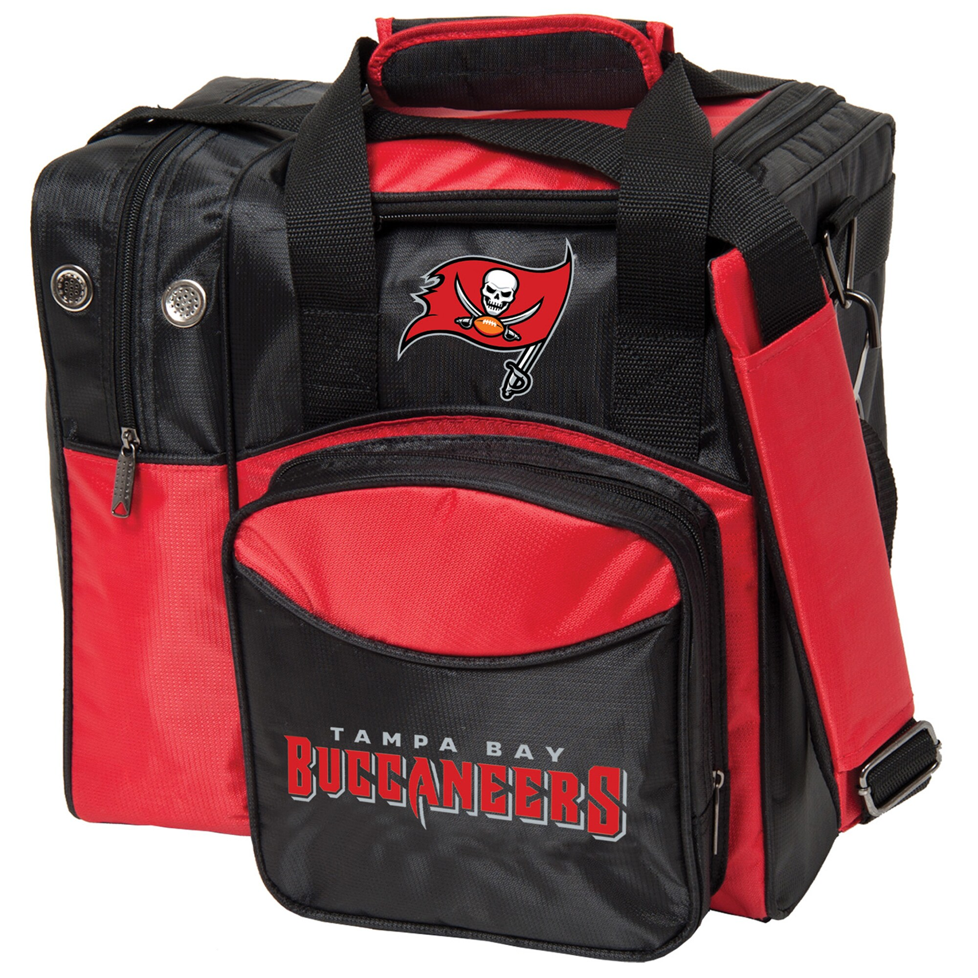 Tampa Bay Buccaneers Single Ball Bowling Tote