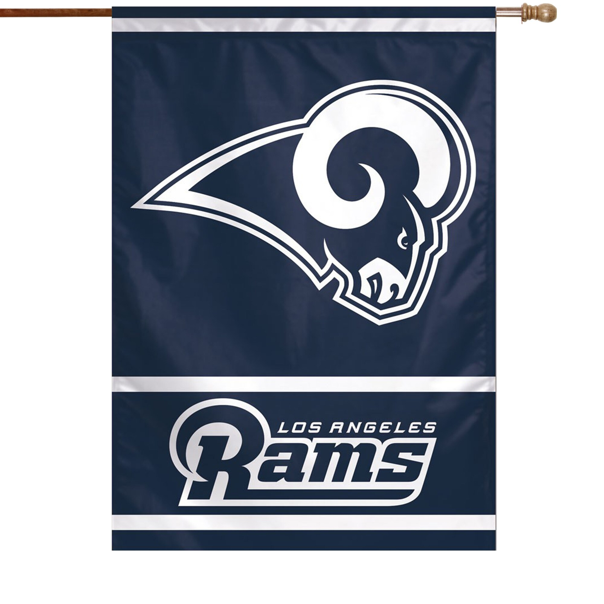 """Los Angeles Rams WinCraft 28"""" x 40"""" Primary Logo Single-Sided Vertical Banner"""