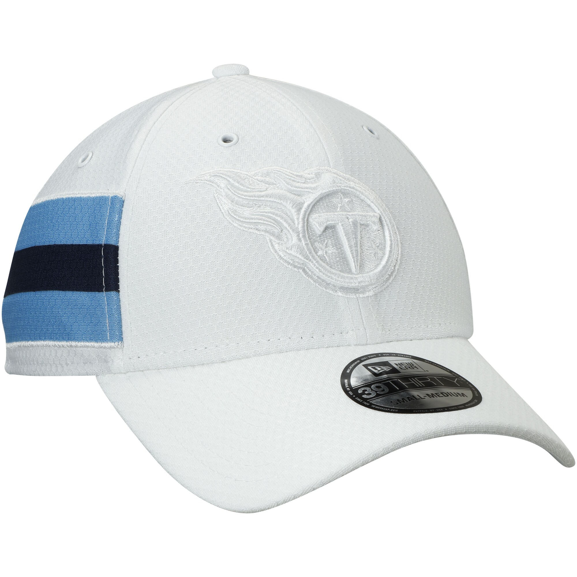 Tennessee Titans New Era Kickoff 39THIRTY Flex Hat - White