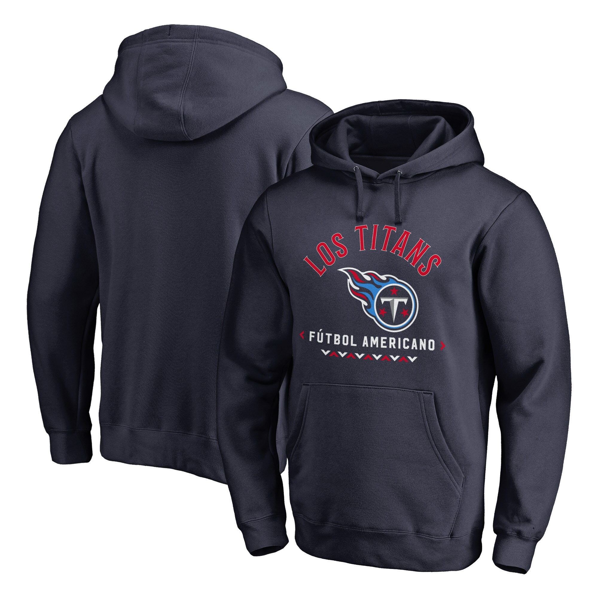 Tennessee Titans NFL Pro Line by Fanatics Branded Futbol Americano Pullover Hoodie - Navy