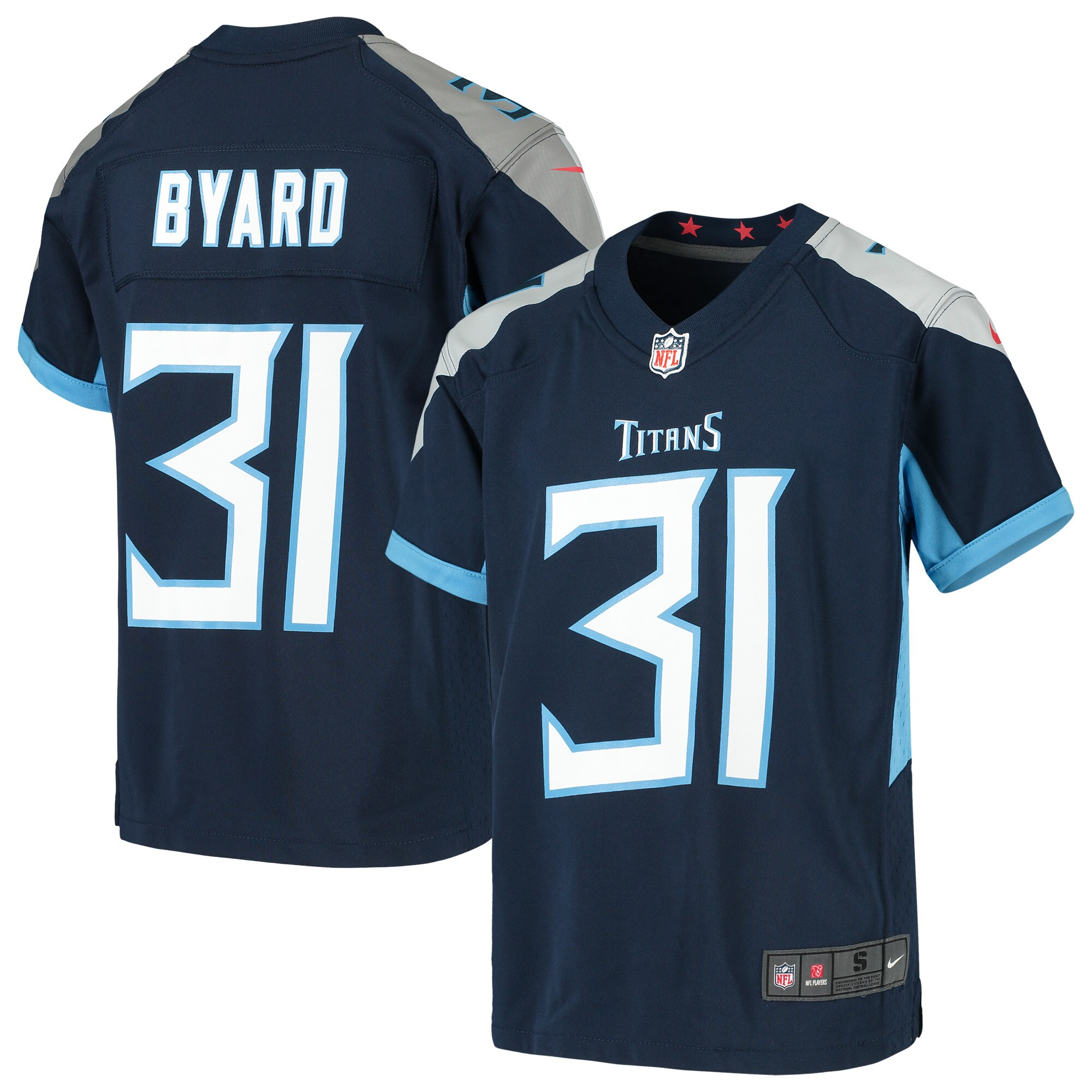 Kevin Byard Tennessee Titans Nike Youth Game Jersey - Navy