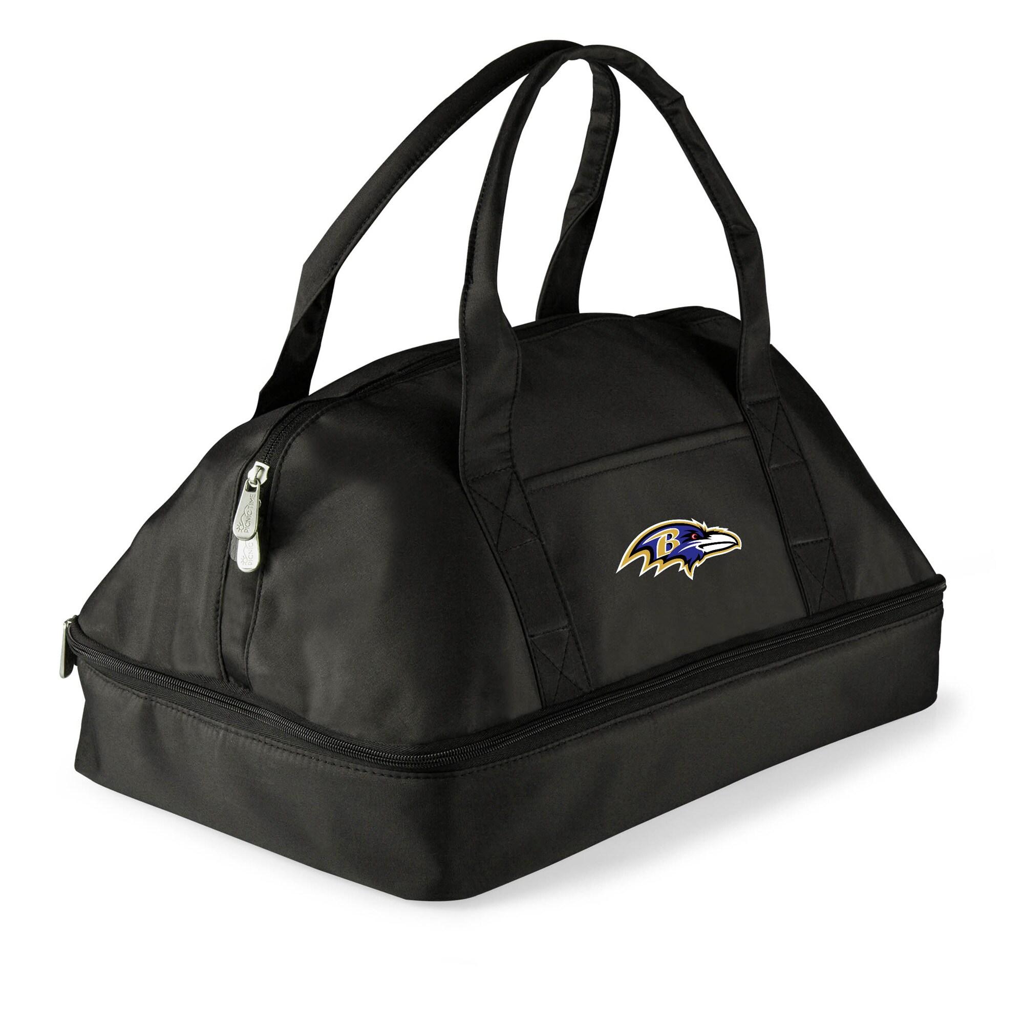 Baltimore Ravens Potluck Casserole Tote - Black