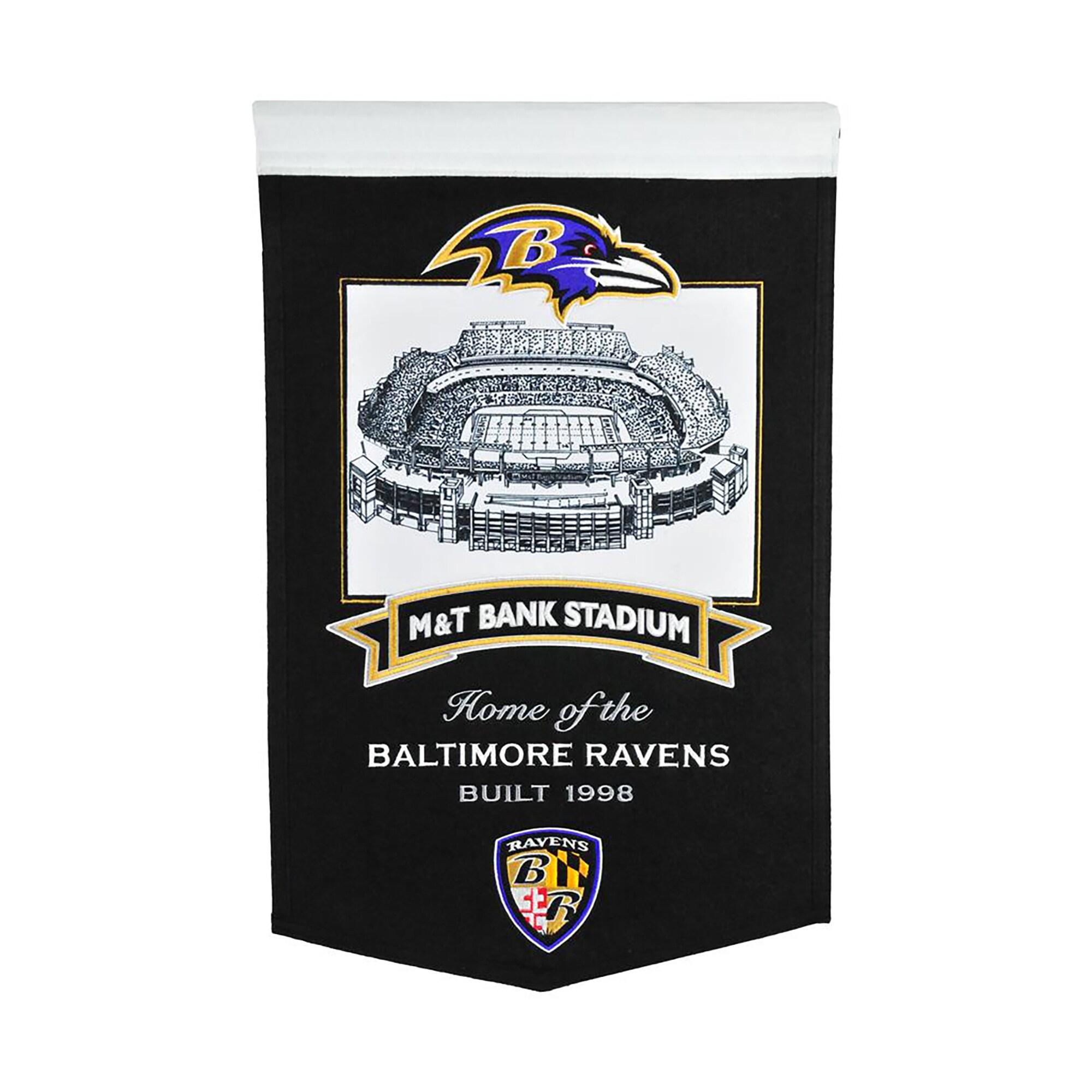 """Baltimore Ravens 15"""" x 24"""" Stadium Banner"""