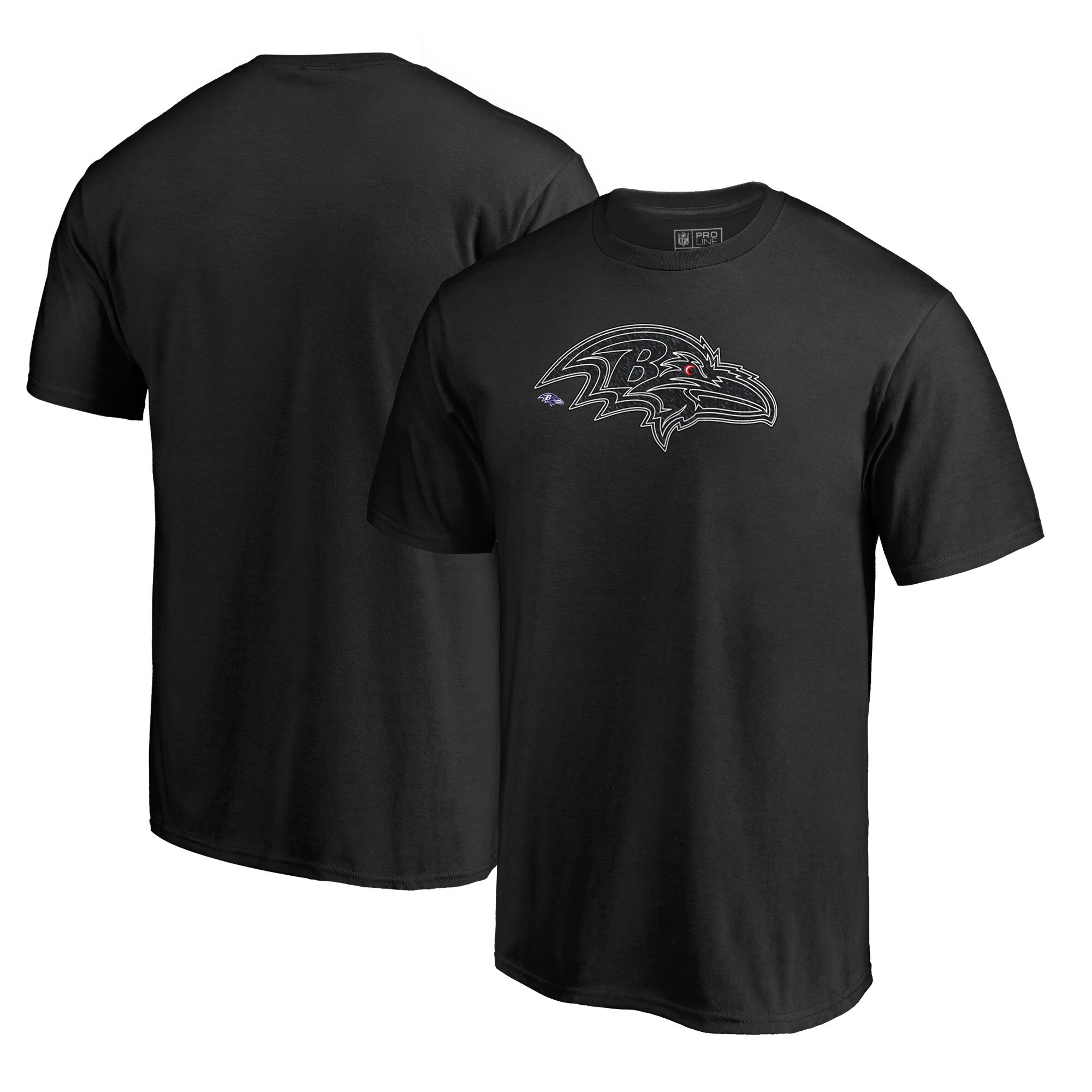 Baltimore Ravens NFL Pro Line by Fanatics Branded Training Camp Hookup T-Shirt - Black