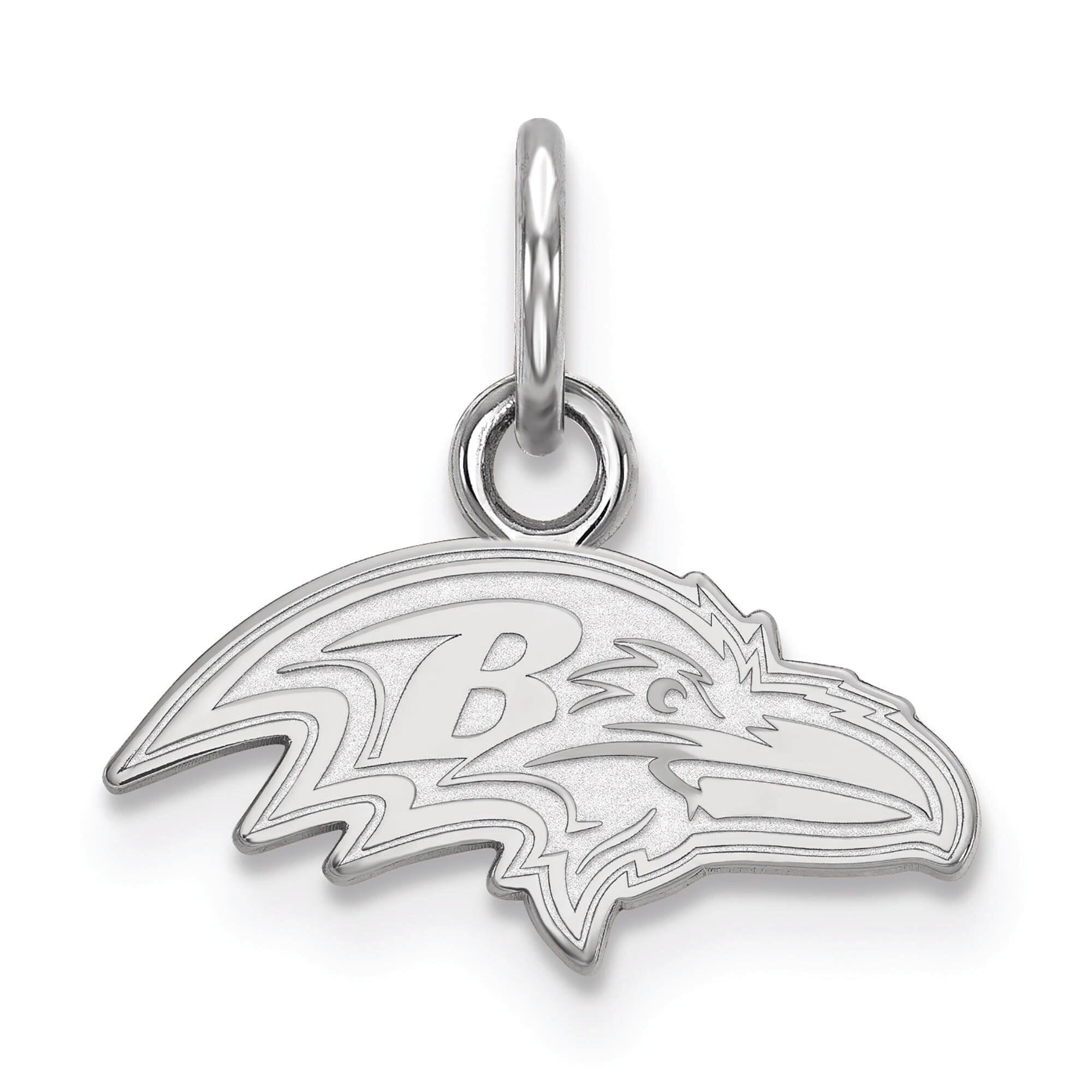 Baltimore Ravens Women's Sterling Silver XS Charm