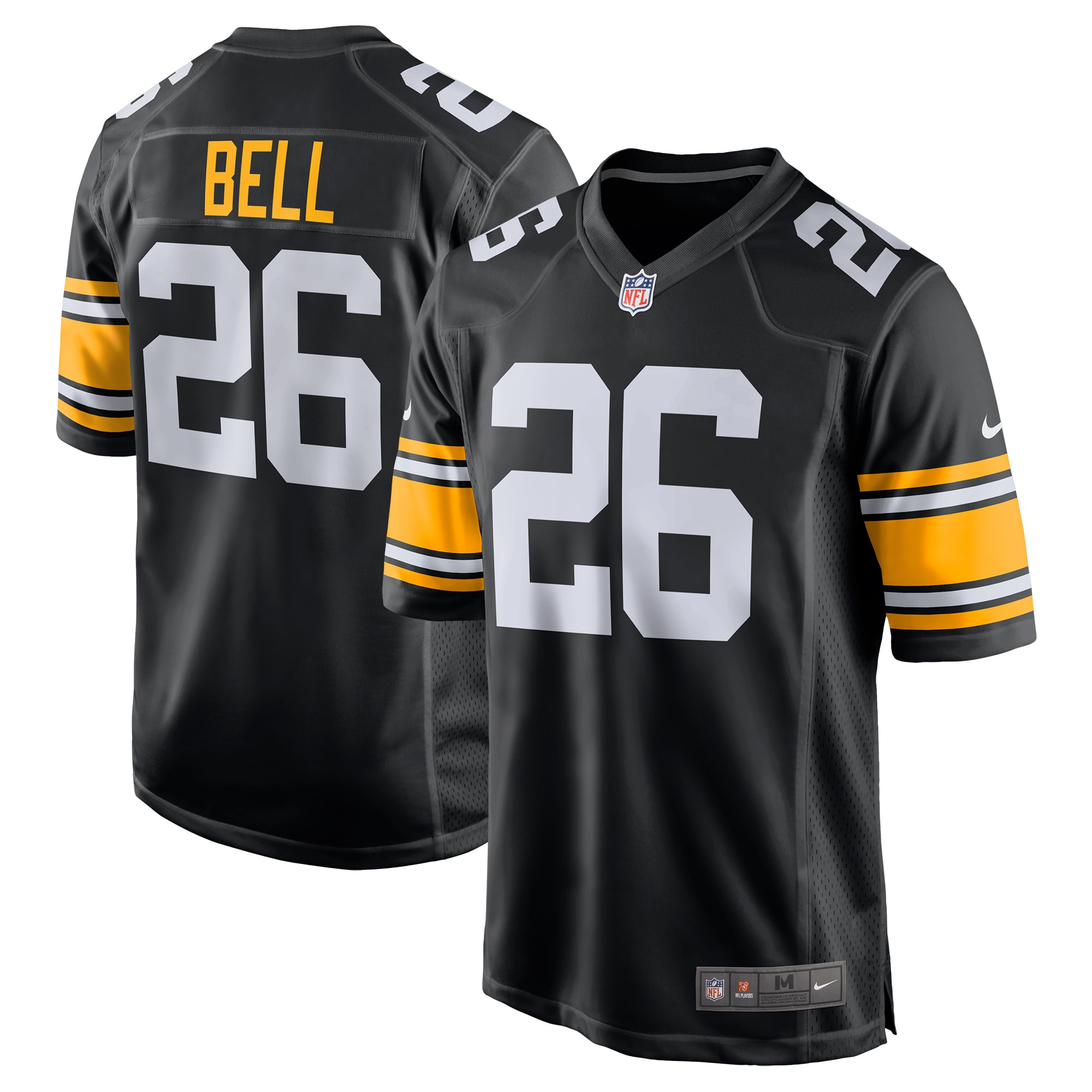 Le'Veon Bell Pittsburgh Steelers Nike Alternate Game Jersey - Black