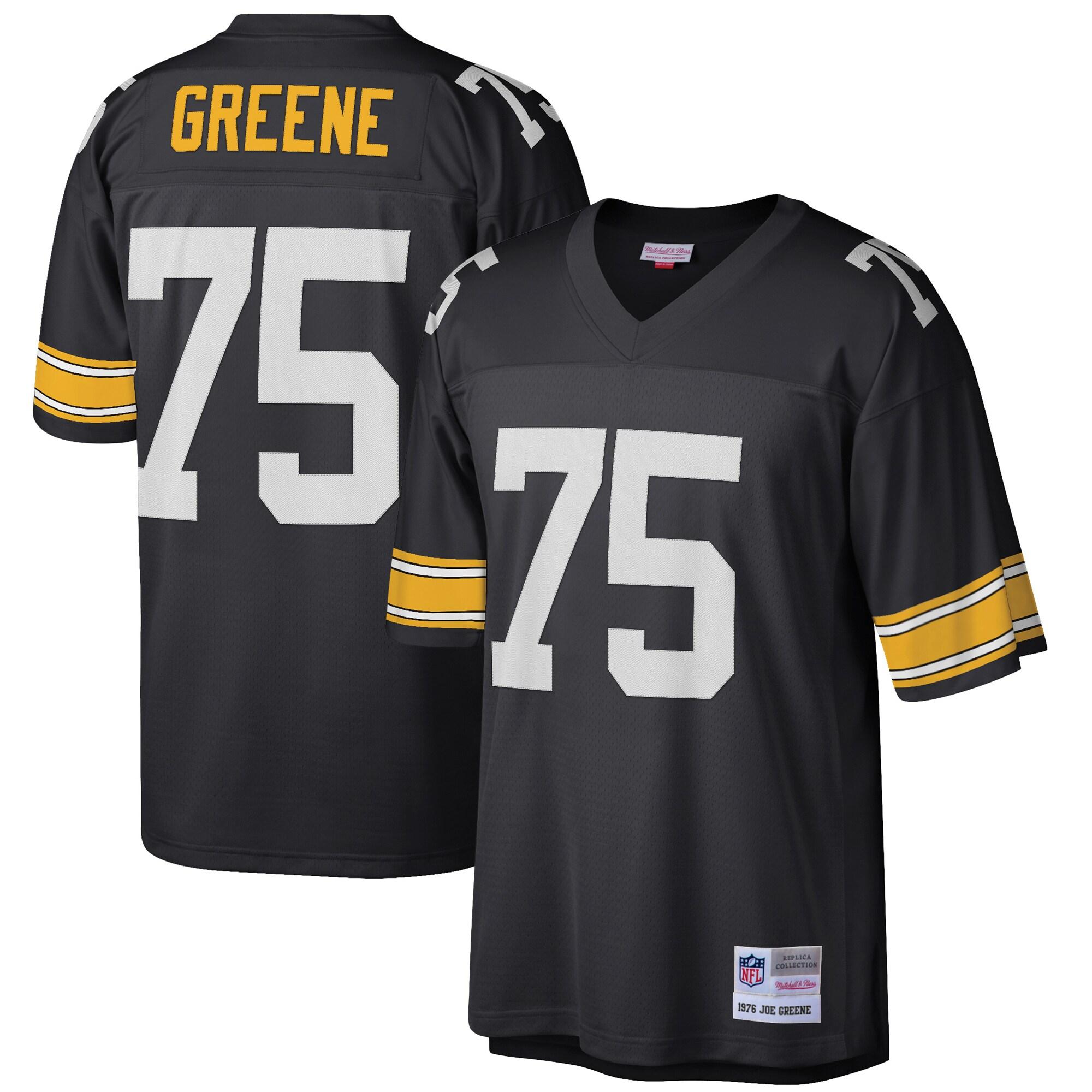 Joe Greene Pittsburgh Steelers Mitchell & Ness Retired Player Legacy Replica Jersey - Black