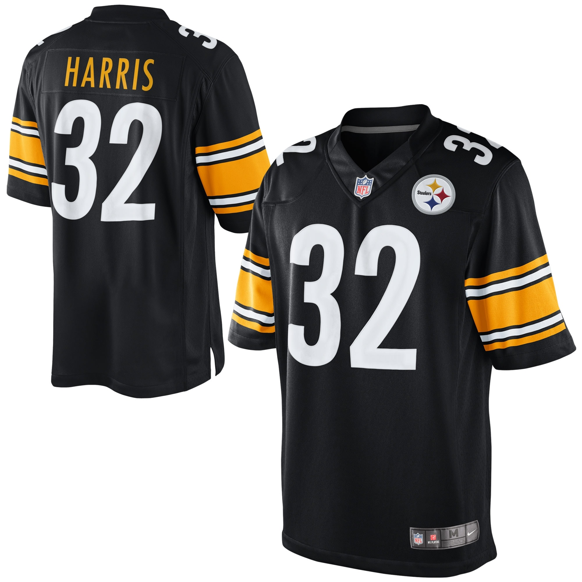 Franco Harris Pittsburgh Steelers Nike Retired Player Limited Jersey - Black