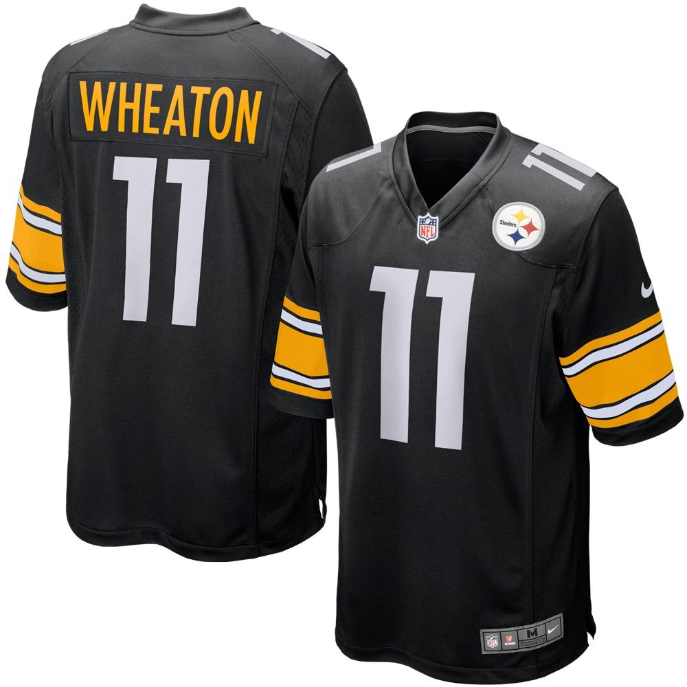 Markus Wheaton Pittsburgh Steelers Nike Game Jersey - Black