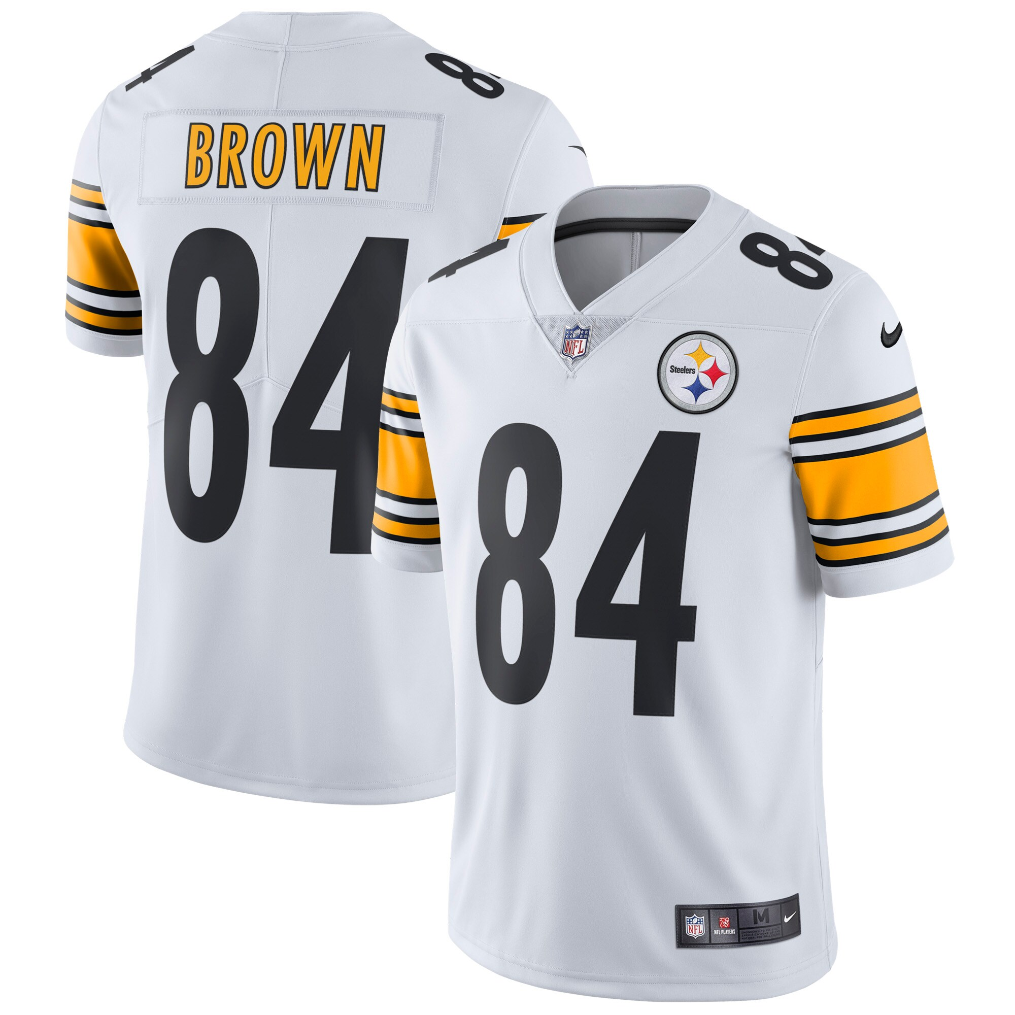 Antonio Brown Pittsburgh Steelers Nike Vapor Untouchable Limited Player Jersey - White
