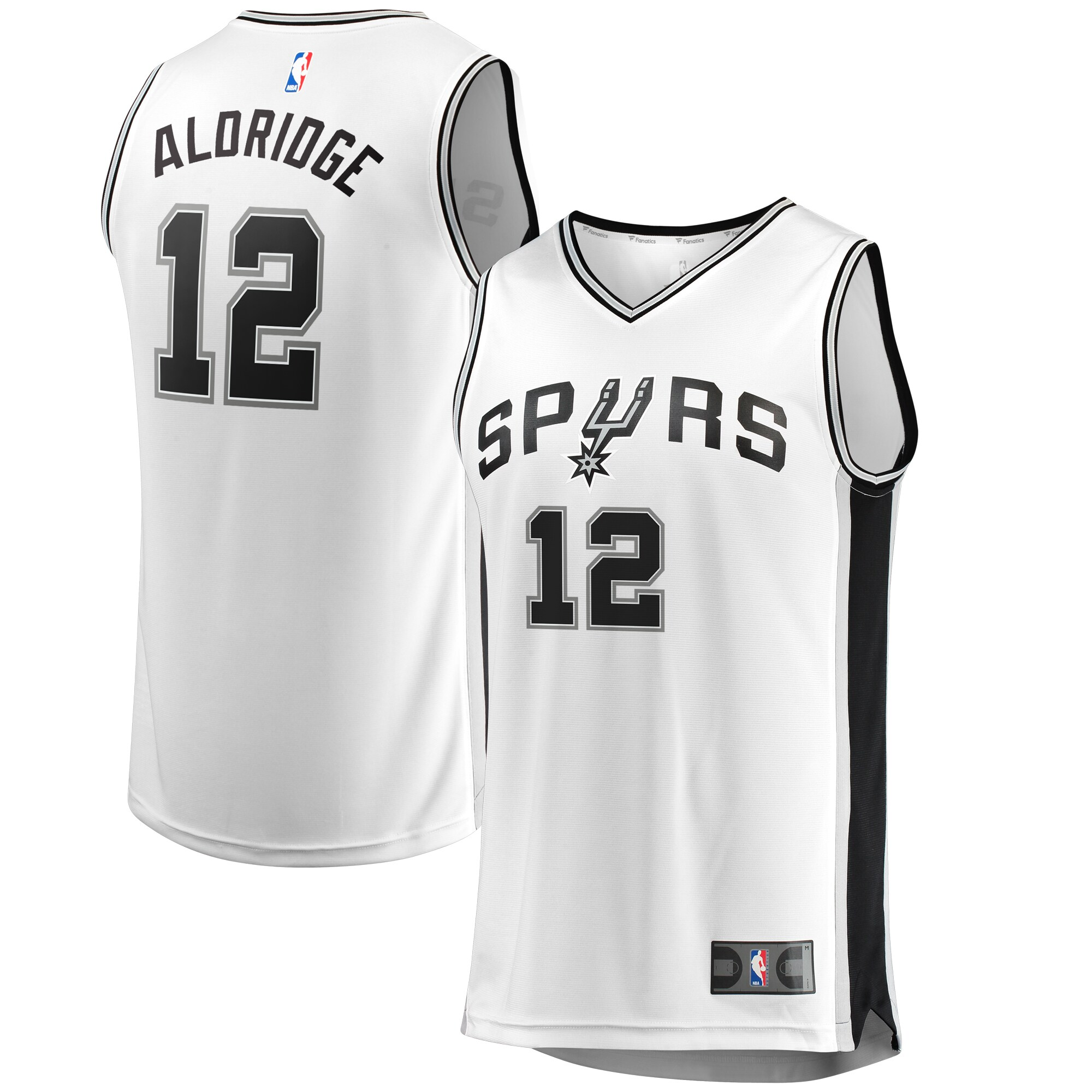 LaMarcus Aldridge San Antonio Spurs Fanatics Branded Fast Break Jersey - Association Edition - White