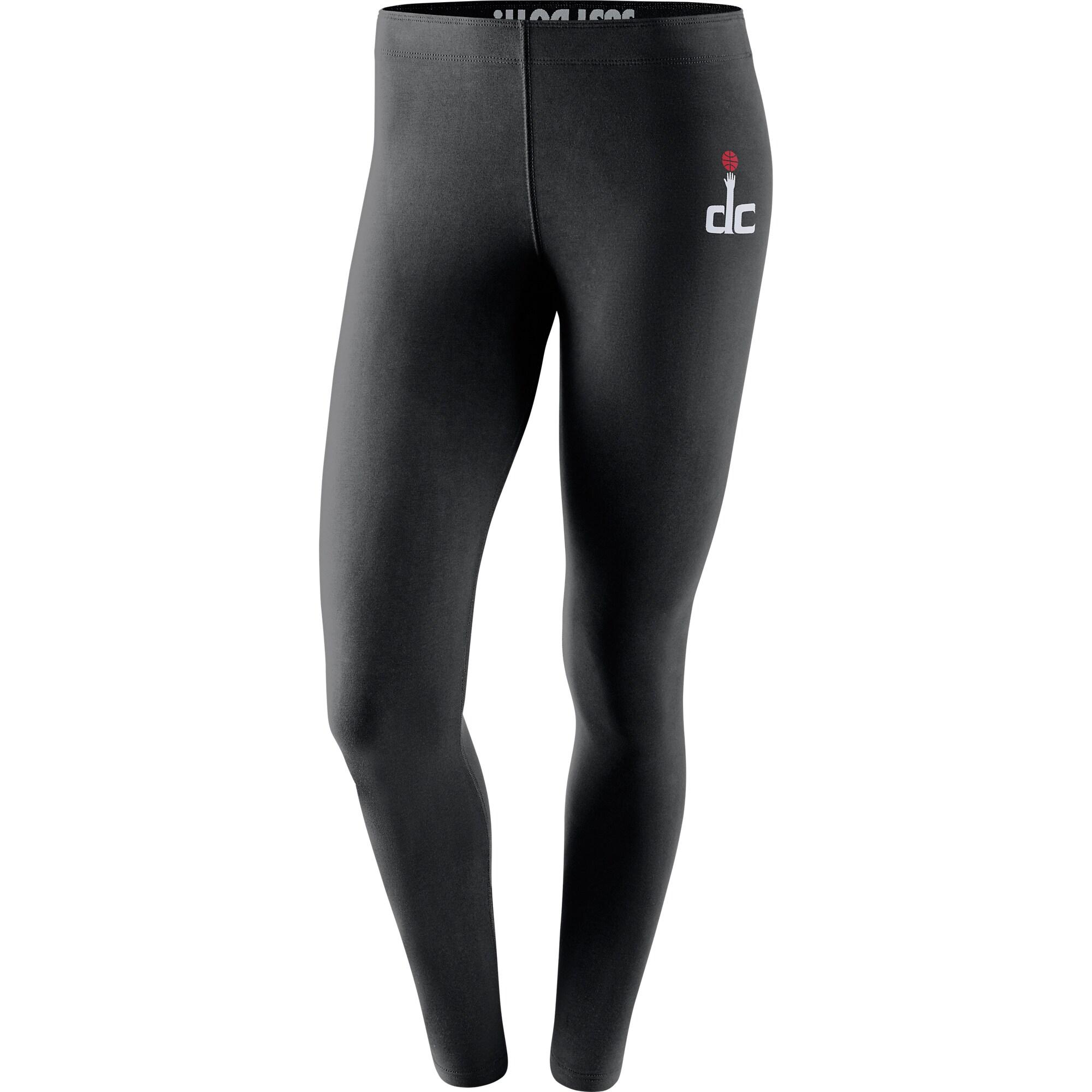 Washington Wizards Nike Women's Leg-A-See Tri-Blend Leggings - Black