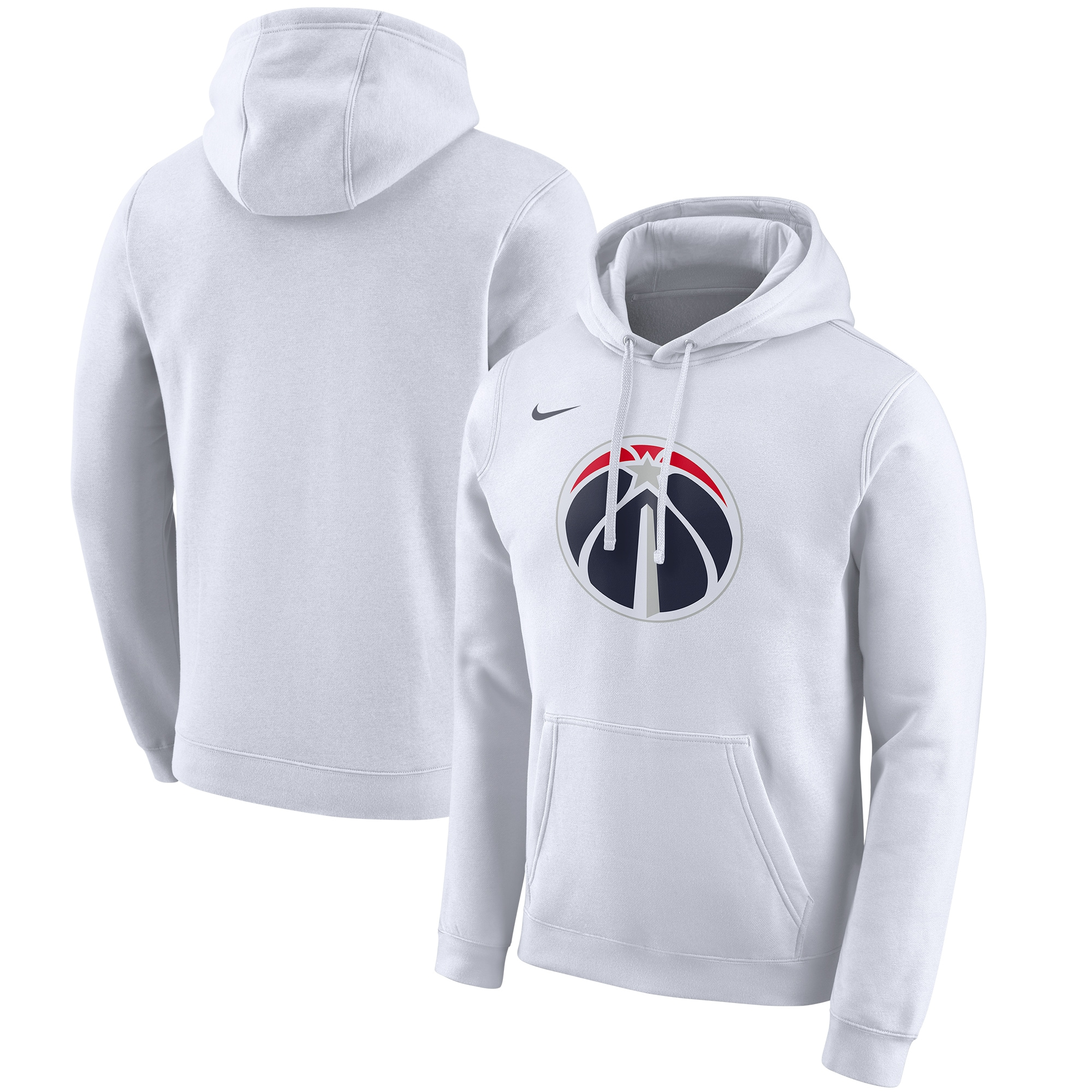 Washington Wizards Nike 2019/20 City Edition Club Pullover Hoodie - White