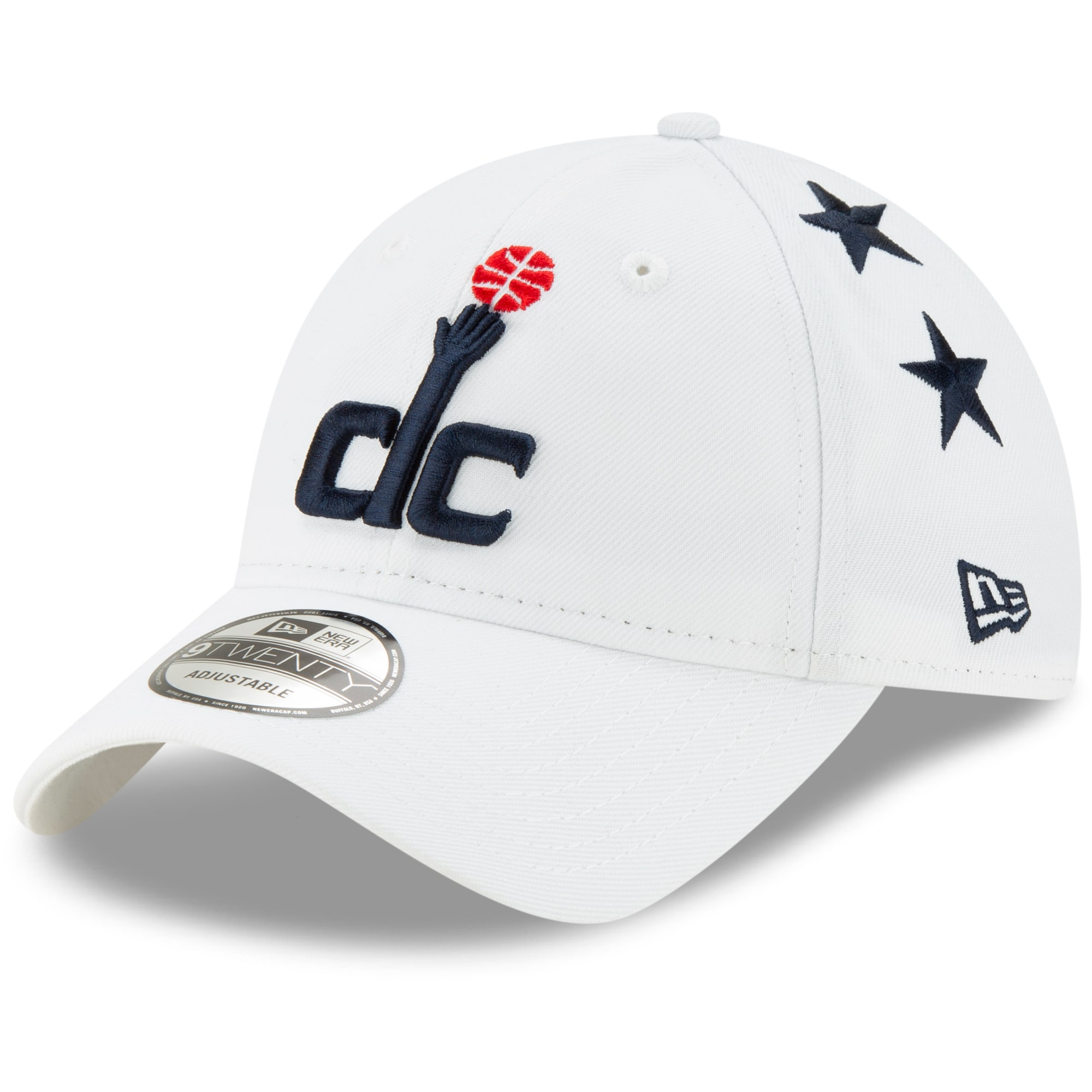 Washington Wizards New Era 2019/20 City Edition 9TWENTY Adjustable Hat - White