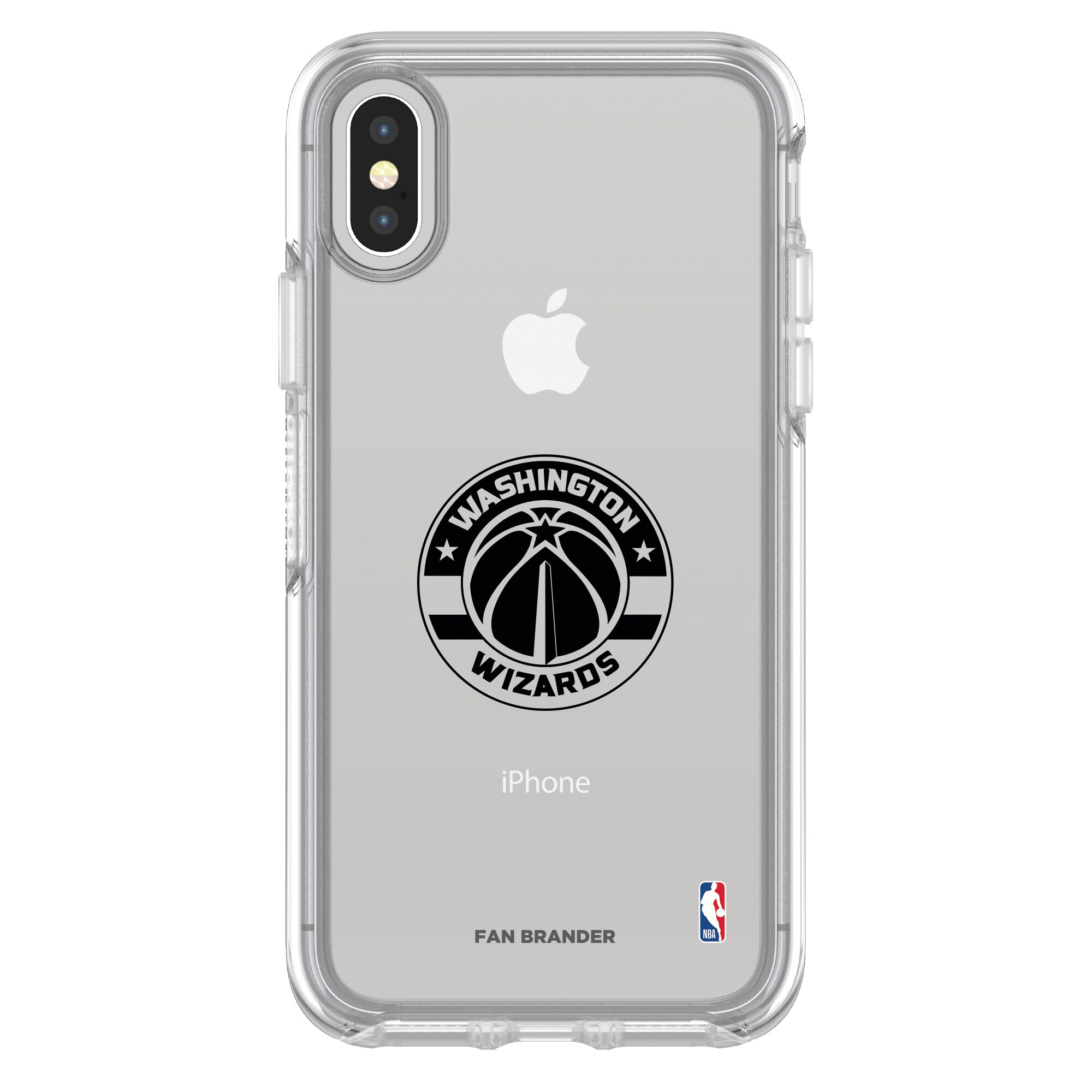 Washington Wizards OtterBox Clear iPhone Symmetry Case